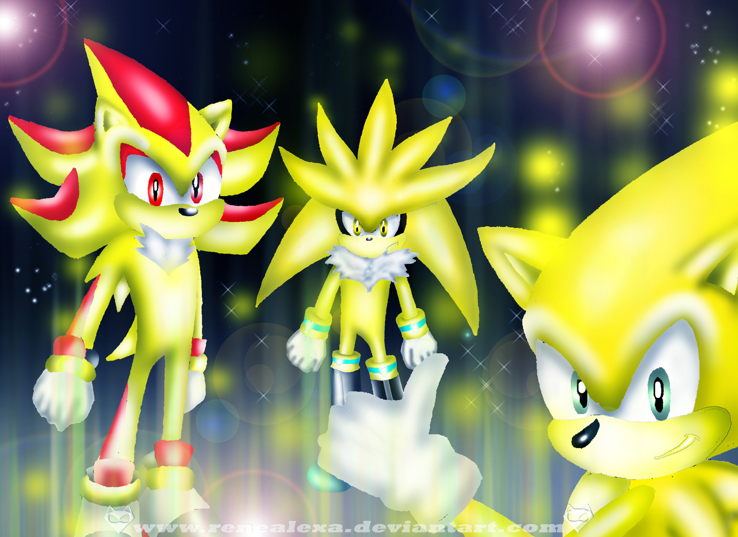 2560x1862 Sonic the Hedgehog images The three Super Hedgehog's HD wallpaper and  background photos