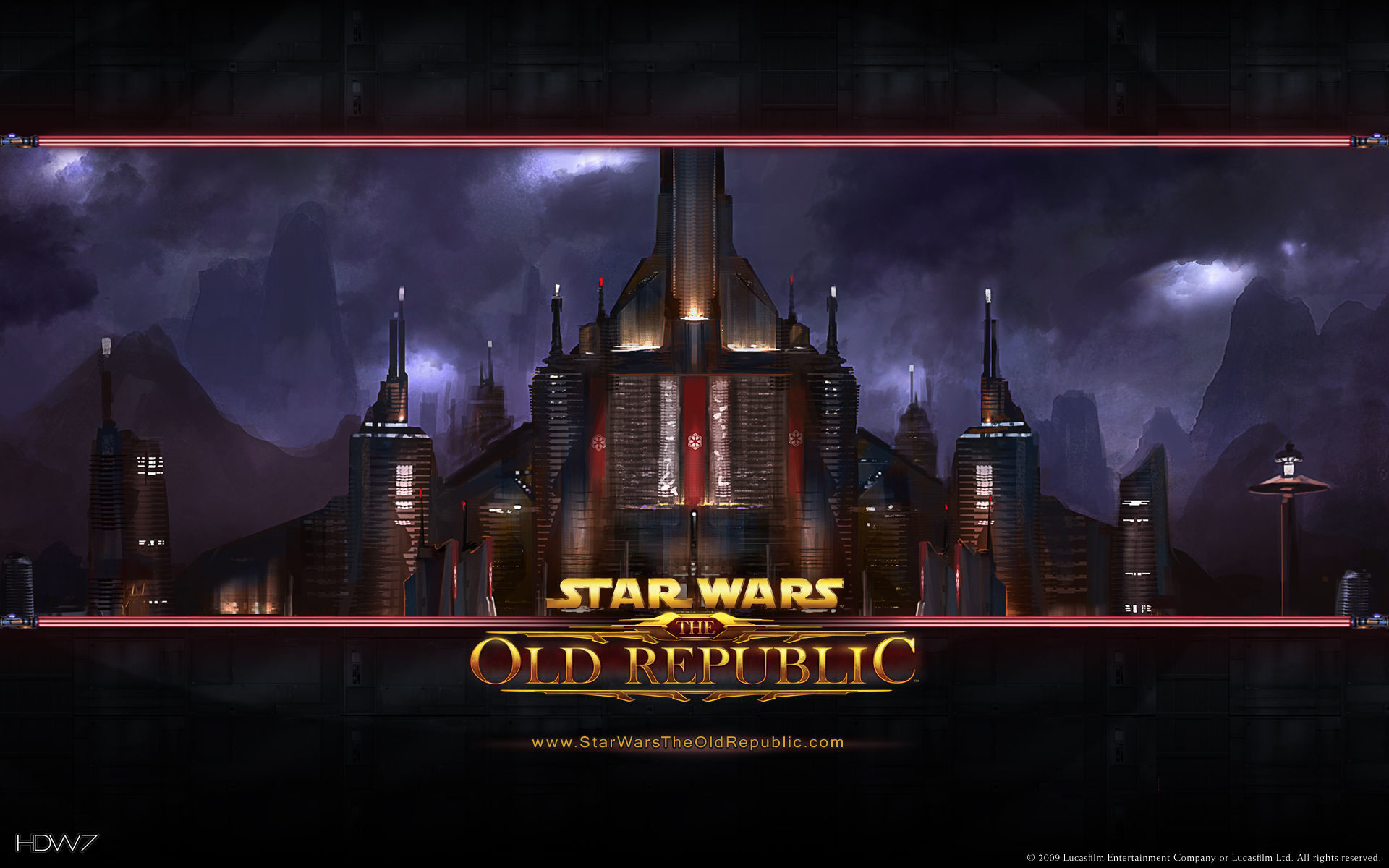1920x1200 star wars the old republic dromund kaas widescreen wallpaper