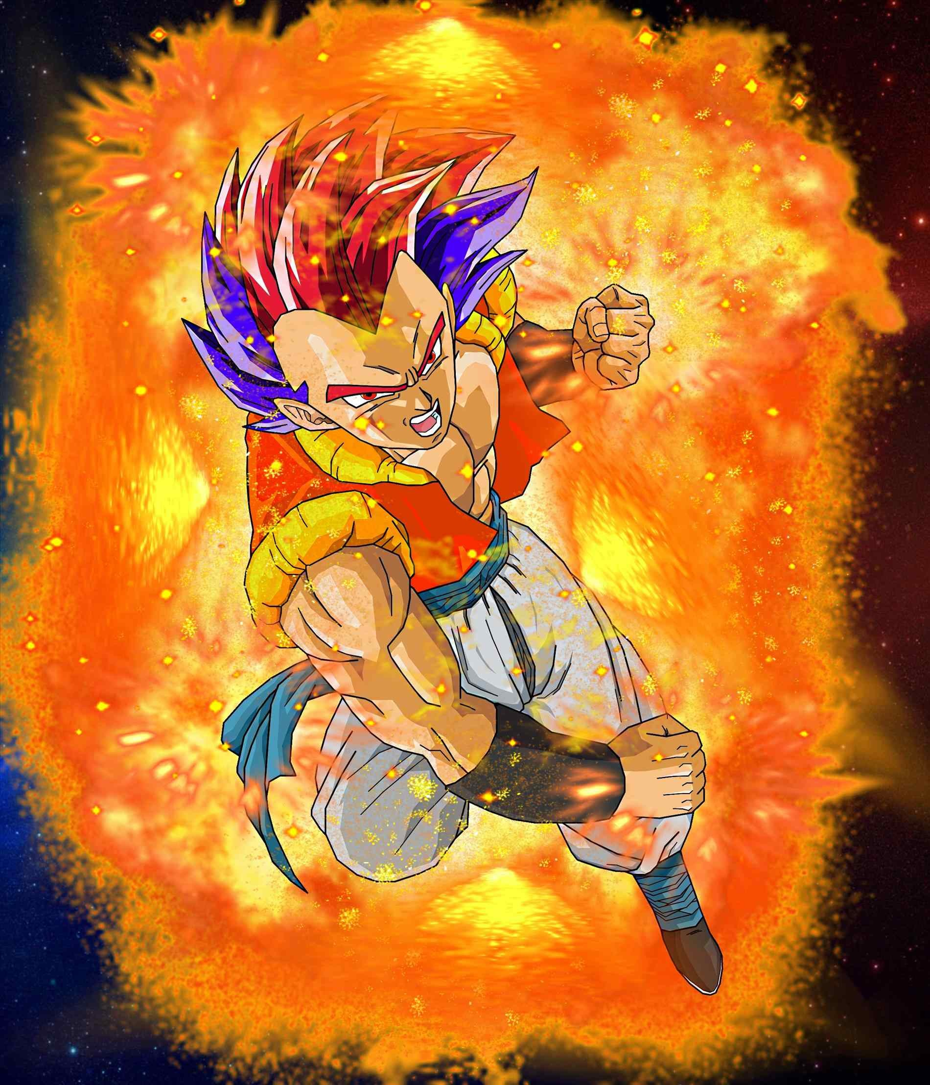 Dragon Ball Super Christmas Wallpaper: Gogeta Wallpapers (60+ Images