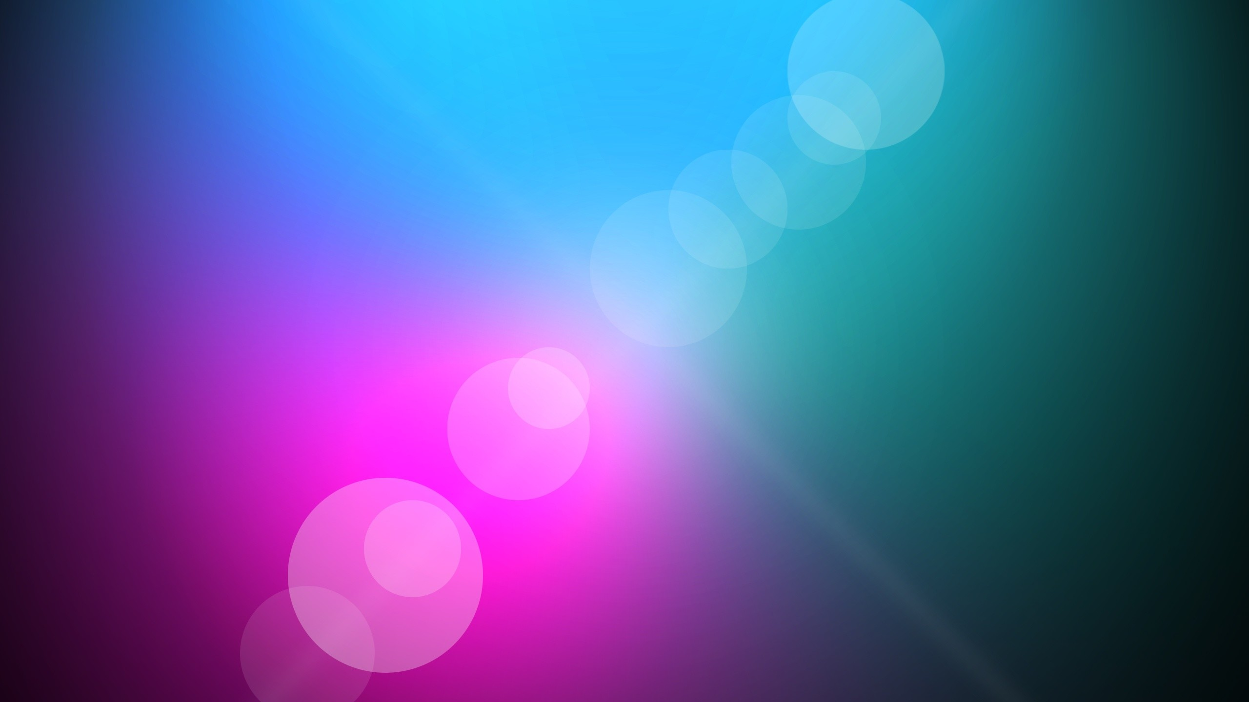 2560x1440 Blue and Pink Background