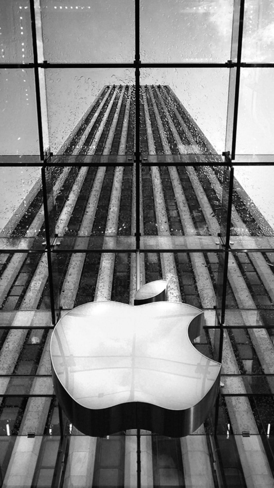 1080x1920 Download apple logo on apple store new york