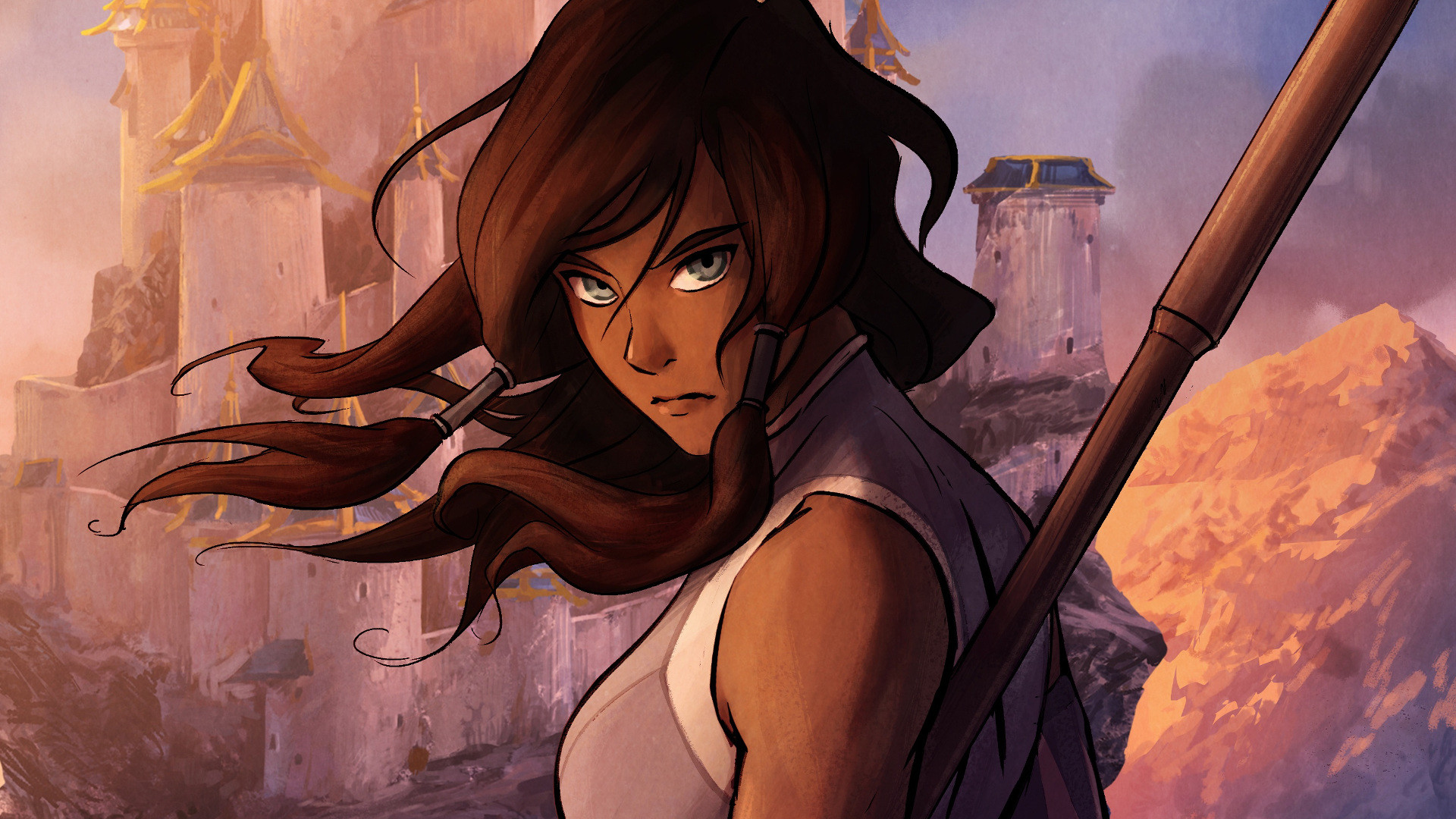 1920x1080 Anime Avatar: The Legend Of Korra Wallpaper