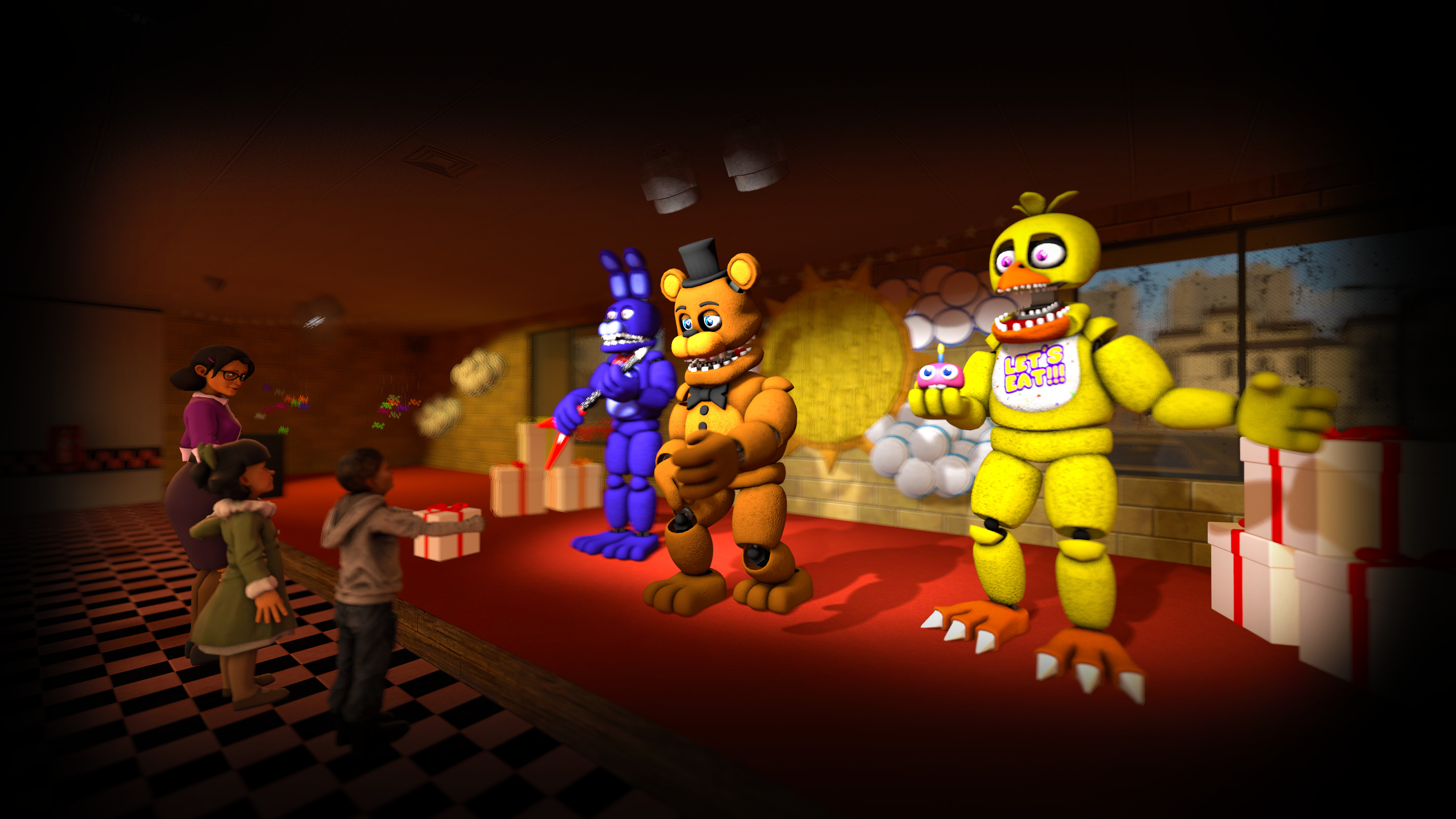 3840x2160 4K FNAF WallPaper by Th3Unkn0wns 4K FNAF WallPaper by Th3Unkn0wns