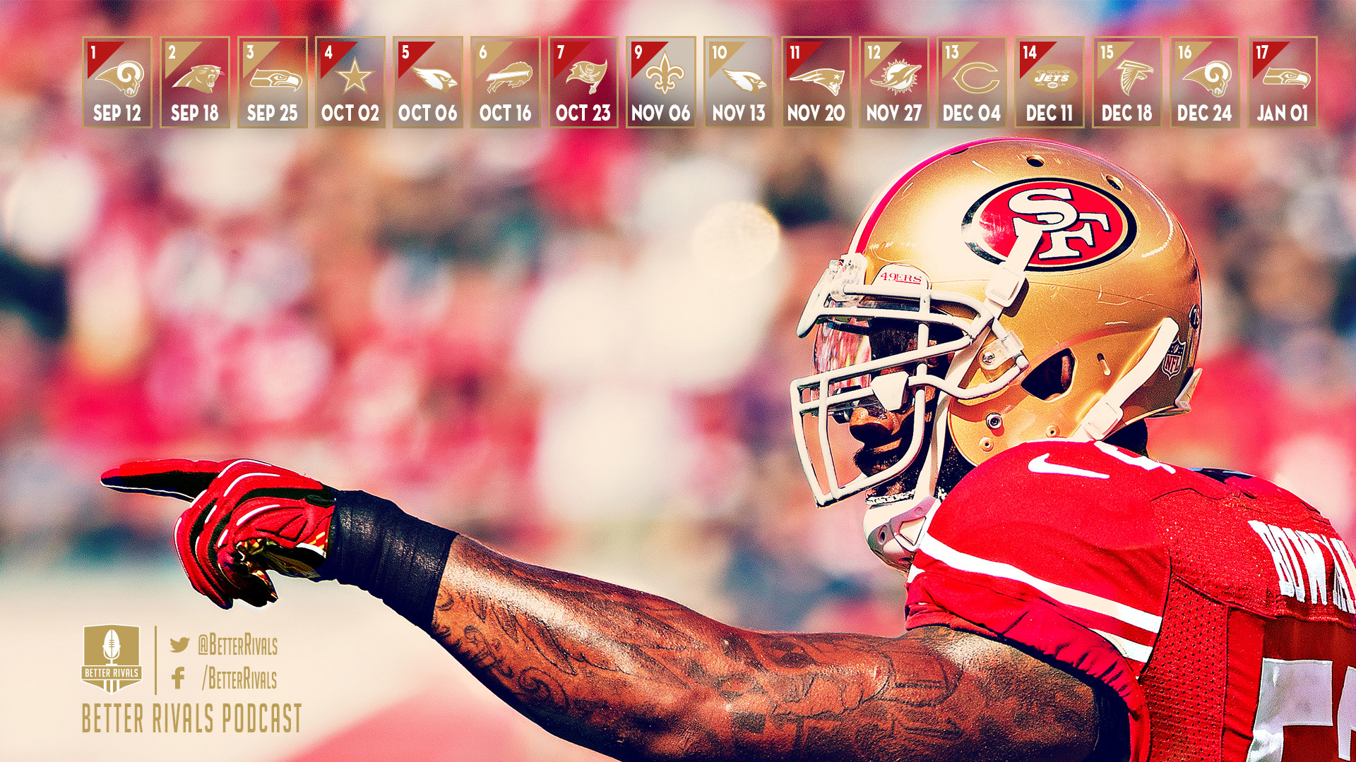 1920x1080 New 49ers Wallpapers for Desktop and Mobile