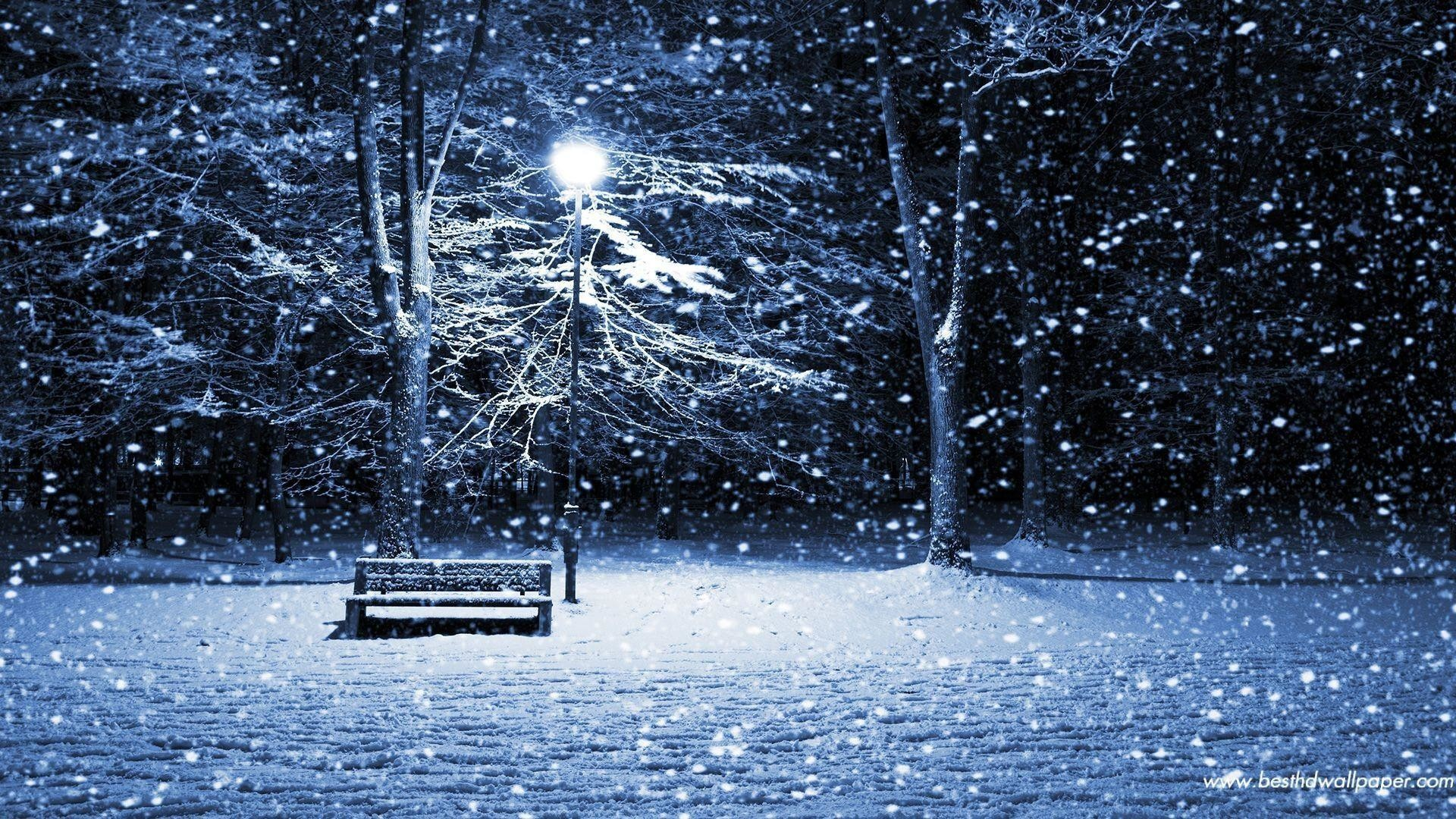 1920x1080 Images For > Christmas Snow Scenes Wallpaper