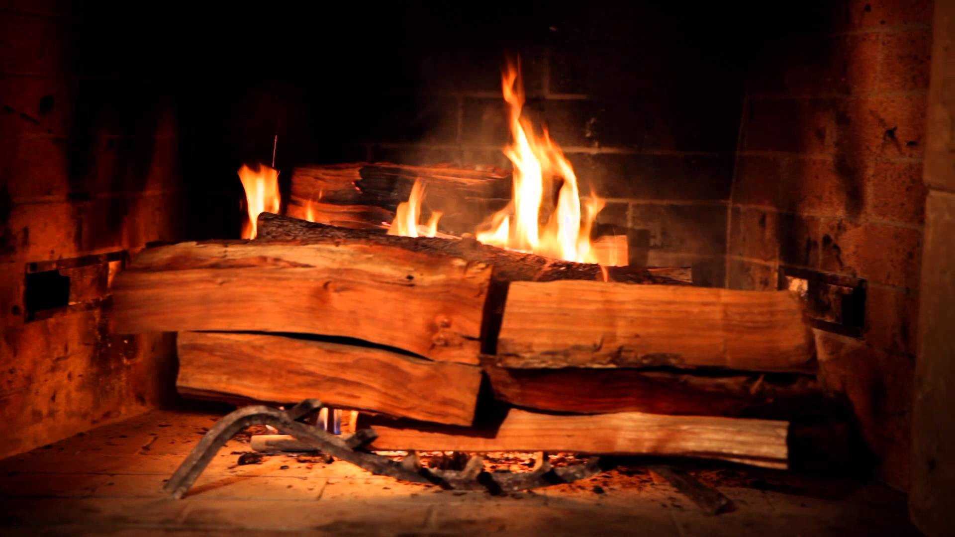 1920x1080 The Yule Log