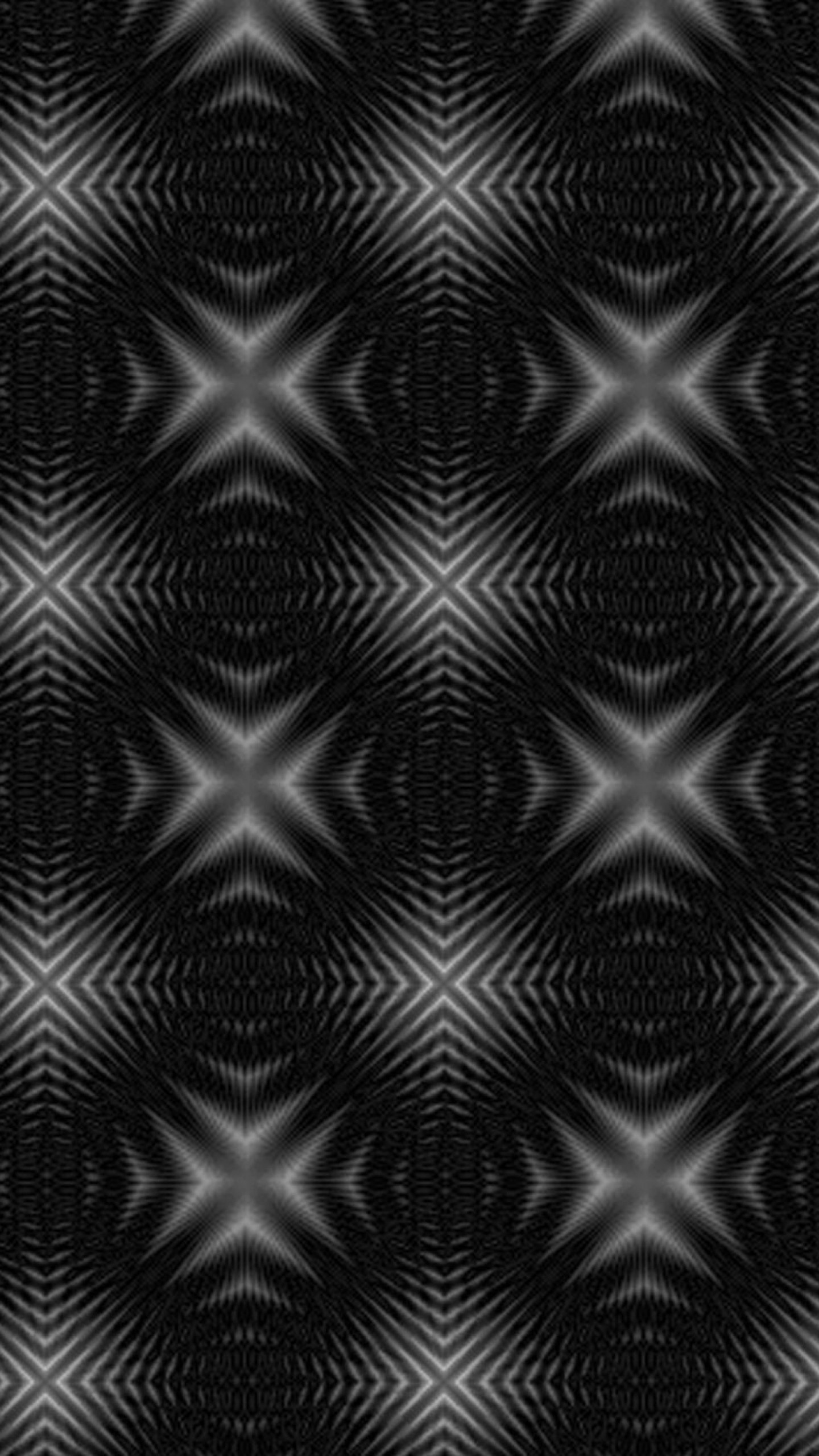 1440x2560 Preview wallpaper abstract, black and white, surface