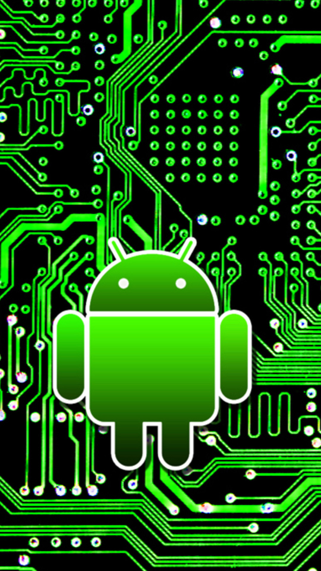 1080x1920 Android circuit board 01 Galaxy S5 Wallpapers HD