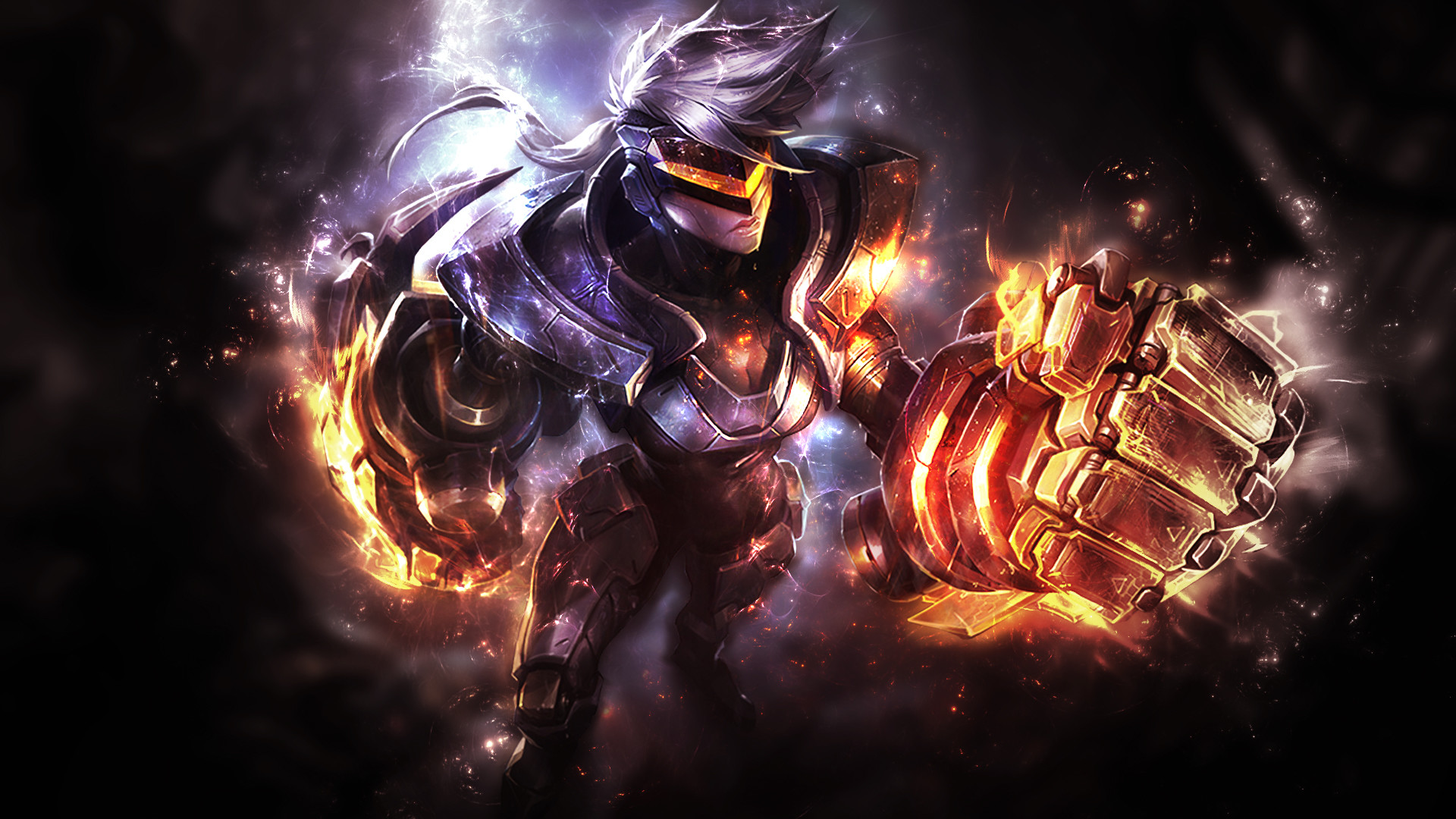 1920x1080 ... League of Legends - PROJECT: Vi Wallpaper by Mr-Booker