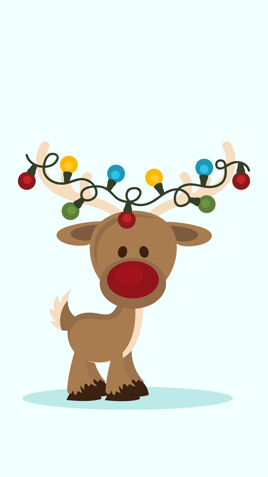 Cute Reindeer Wallpaper (49+ images)