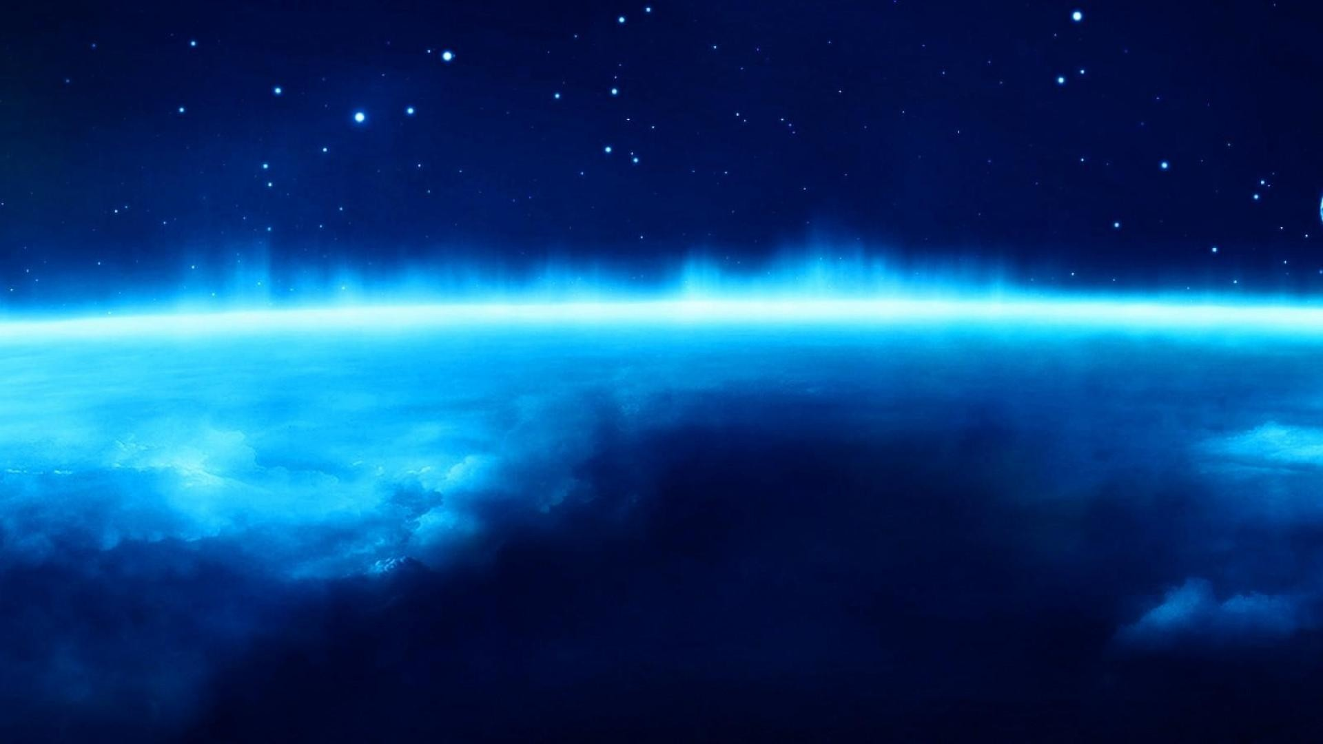 Blue Space Wallpaper 75 Images