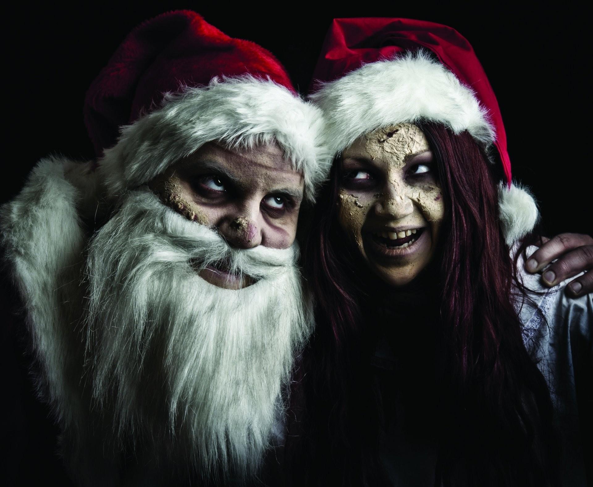 Christmas Zombie Wallpaper.Evil Christmas Wallpaper 64 Images