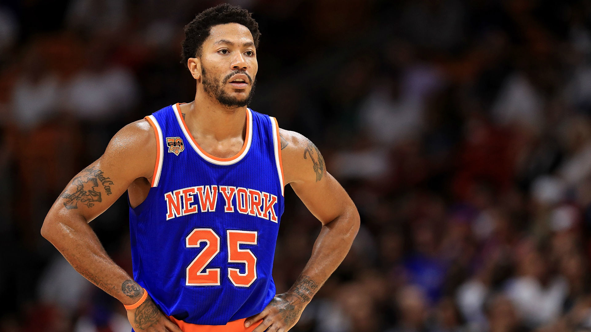 1920x1080 NBA free agency: Derrick Rose to meet with L.A. Clippers, report says | NBA  | Sporting News