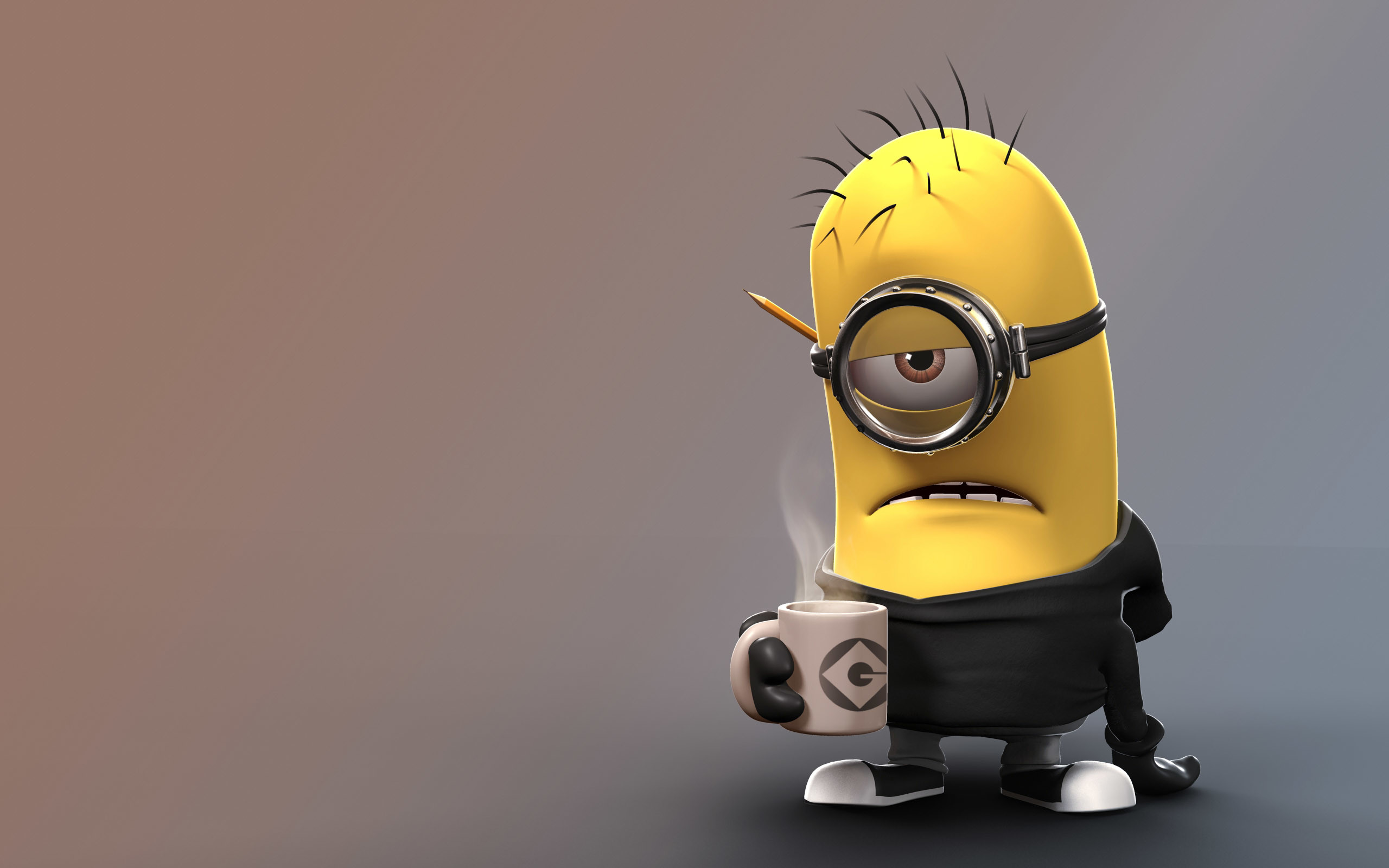 2560x1600 [Cartoons] A Cute Collection Of Despicable Me 2 Minions | Wallpapers,  Images & Fan Art