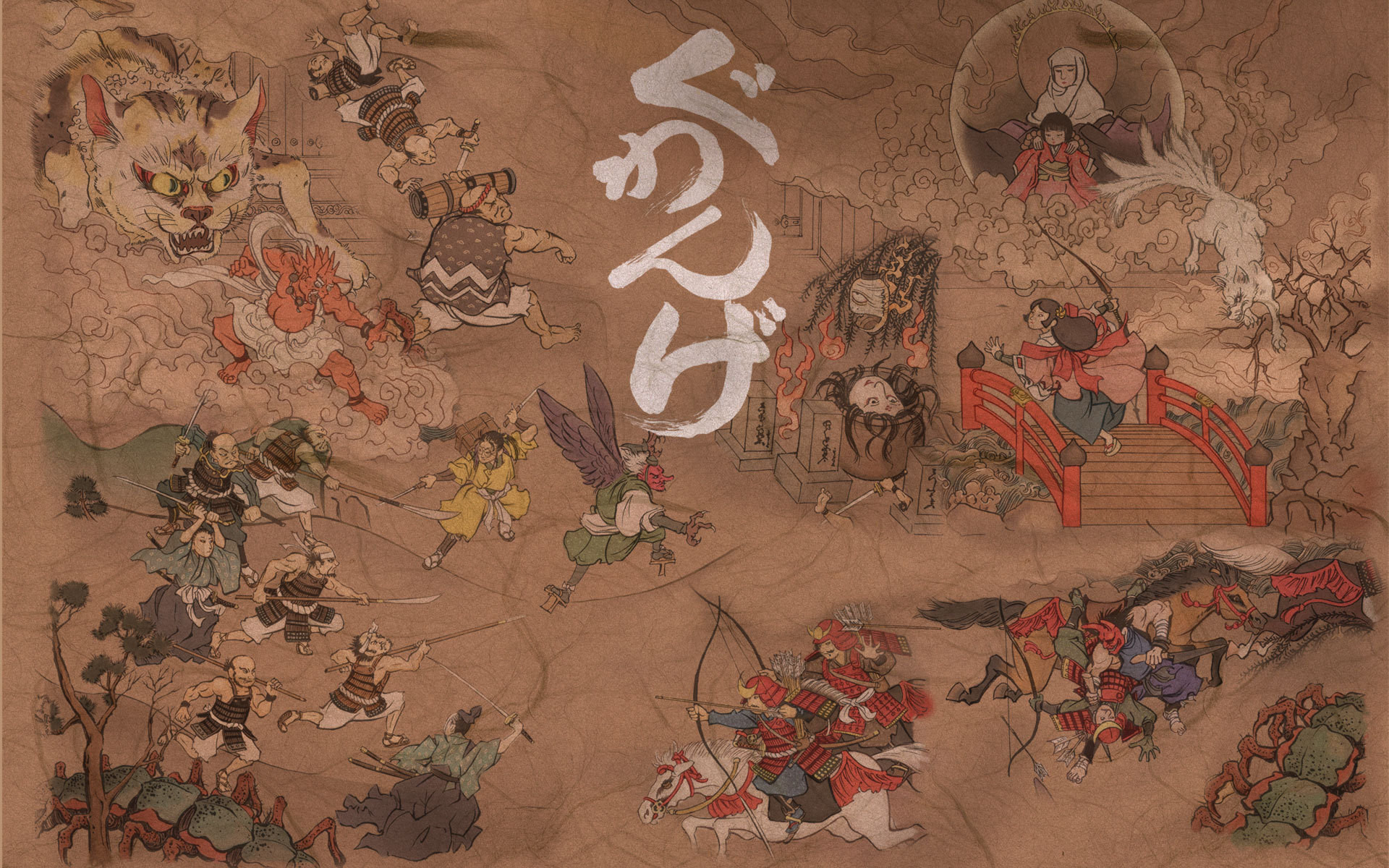 1920x1200 Image detail for -Japanese Art Wallpapers, Wall Art, Japan Wallpaper,  Paining |