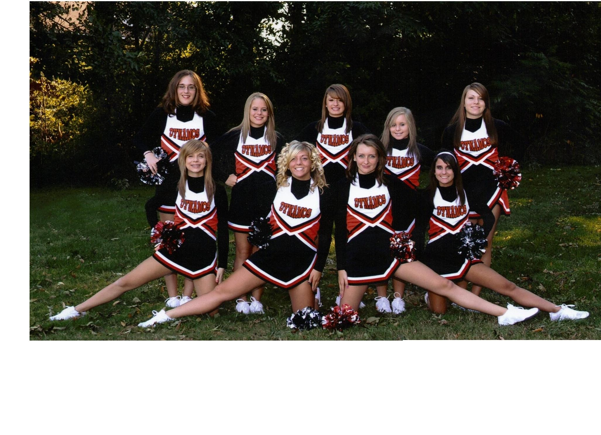 2053x1488 cheer team pictures | Springdale cheerleaders are taking over the school  with their pride .