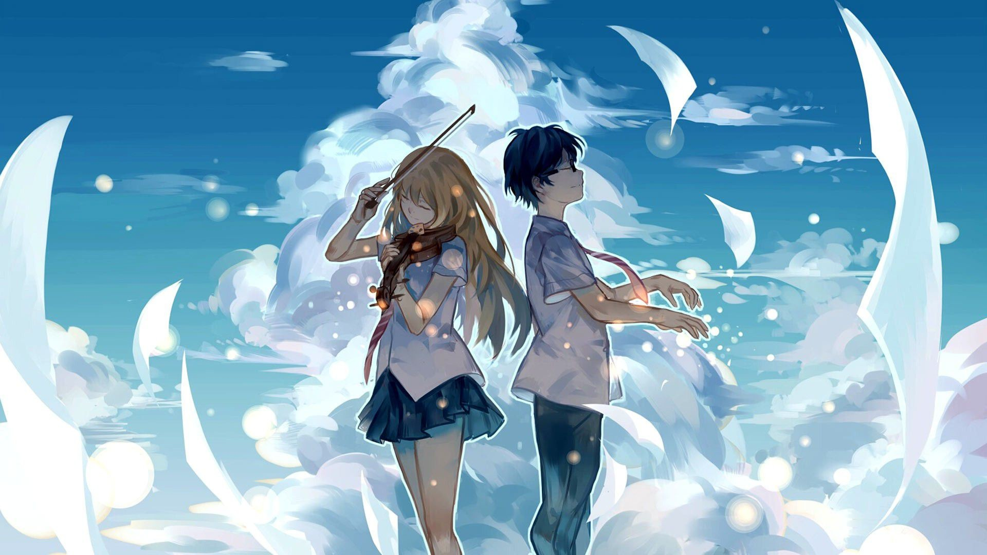 Cute Anime Couple Wallpaper 70 Images