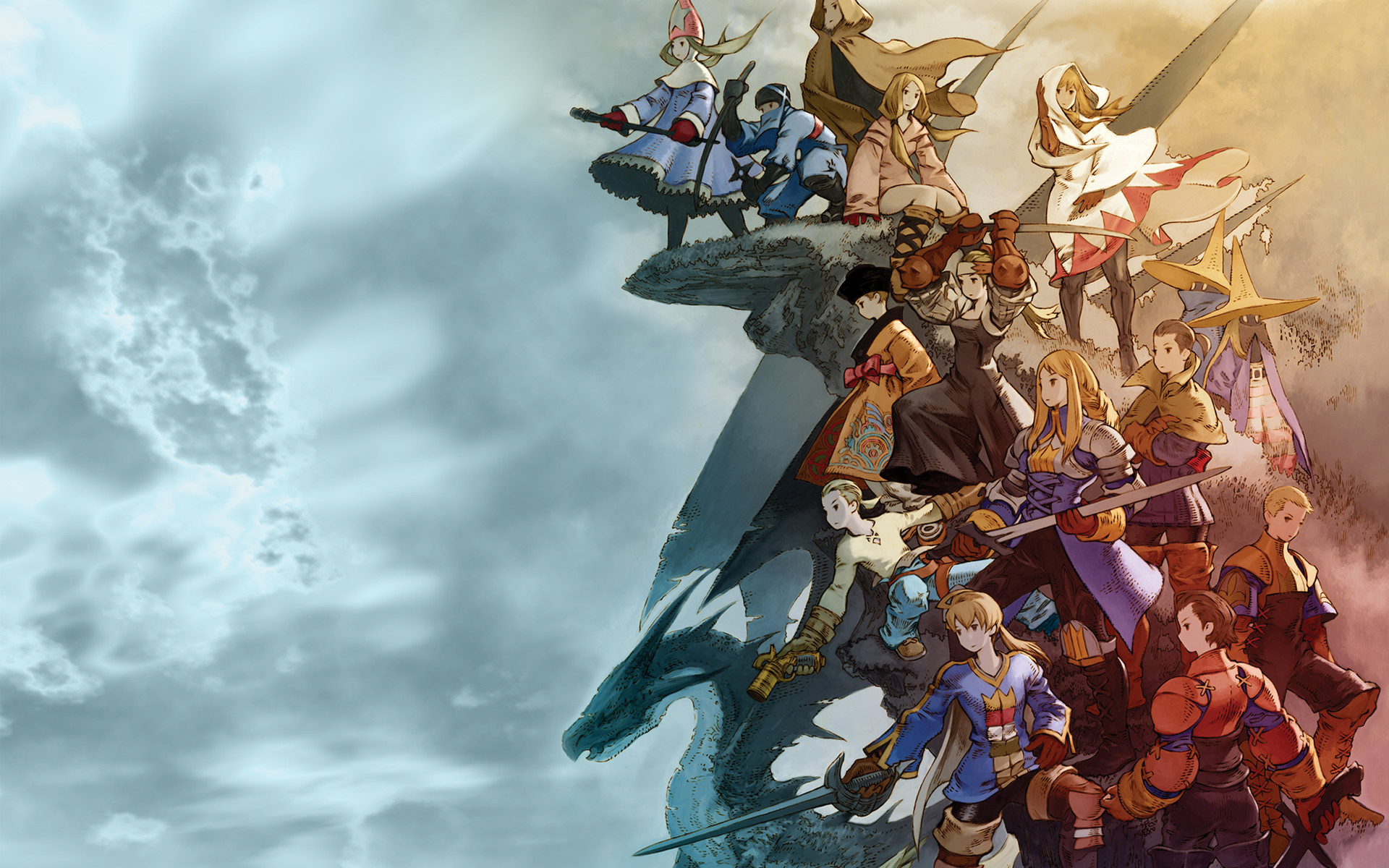 1920x1200 Final Fantasy Wallpapers – FFT
