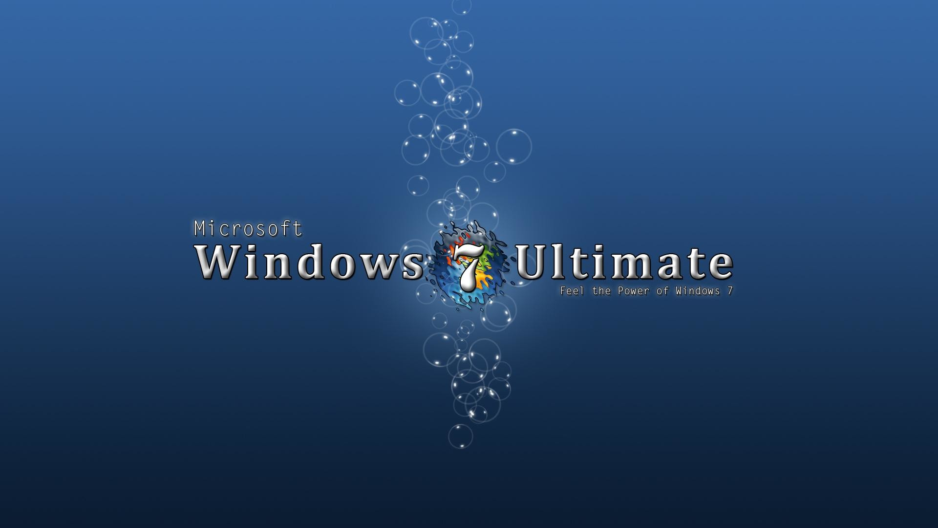 1920x1080 Blue Windows 7 Ultimate