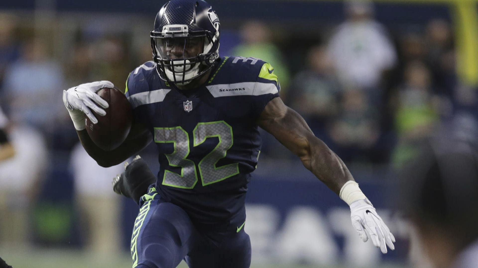 1920x1080 Seattle Seahawks rookie Chris Carson makes a name for himself in Week 2 |  NBC Sports