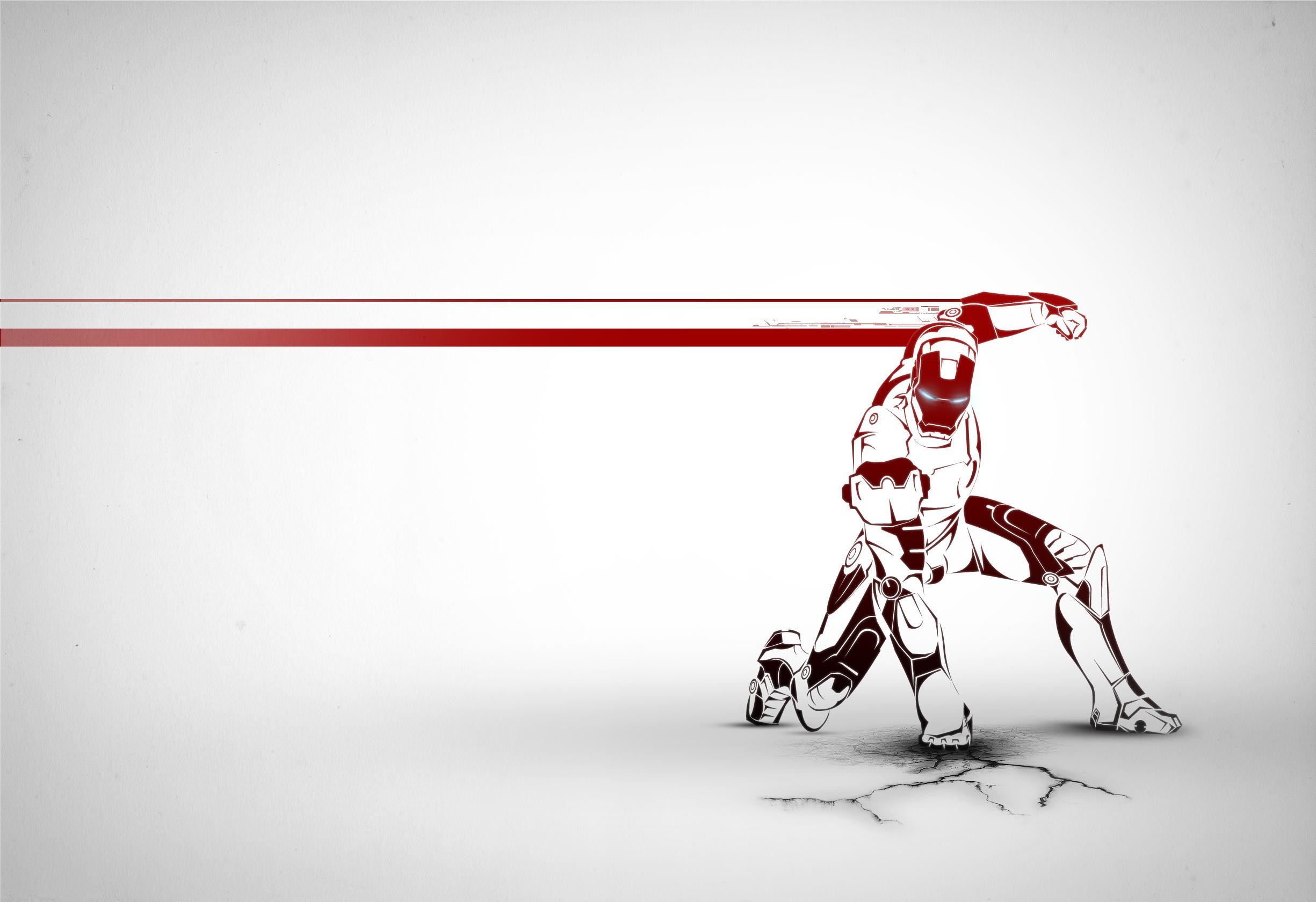 2450x1680 Ironman Wallpaper on Behance