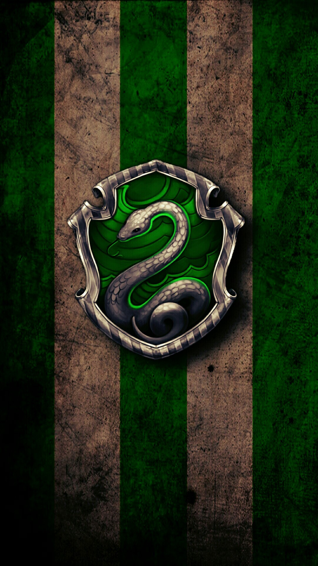1080x1920  custom slytherin wallpaper