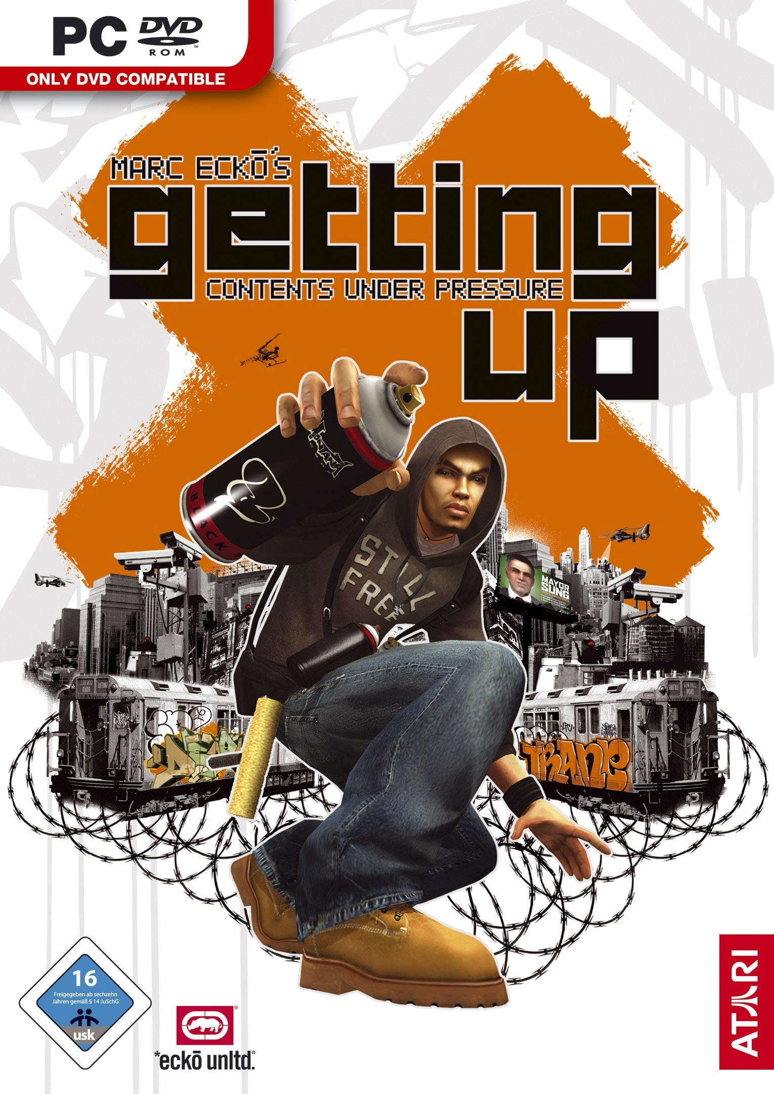 1530x2162 Marc Ecko's Getting Up - Contents Under Pressure: Test, Tipps, Videos,  News, Release Termin - PCGames.de