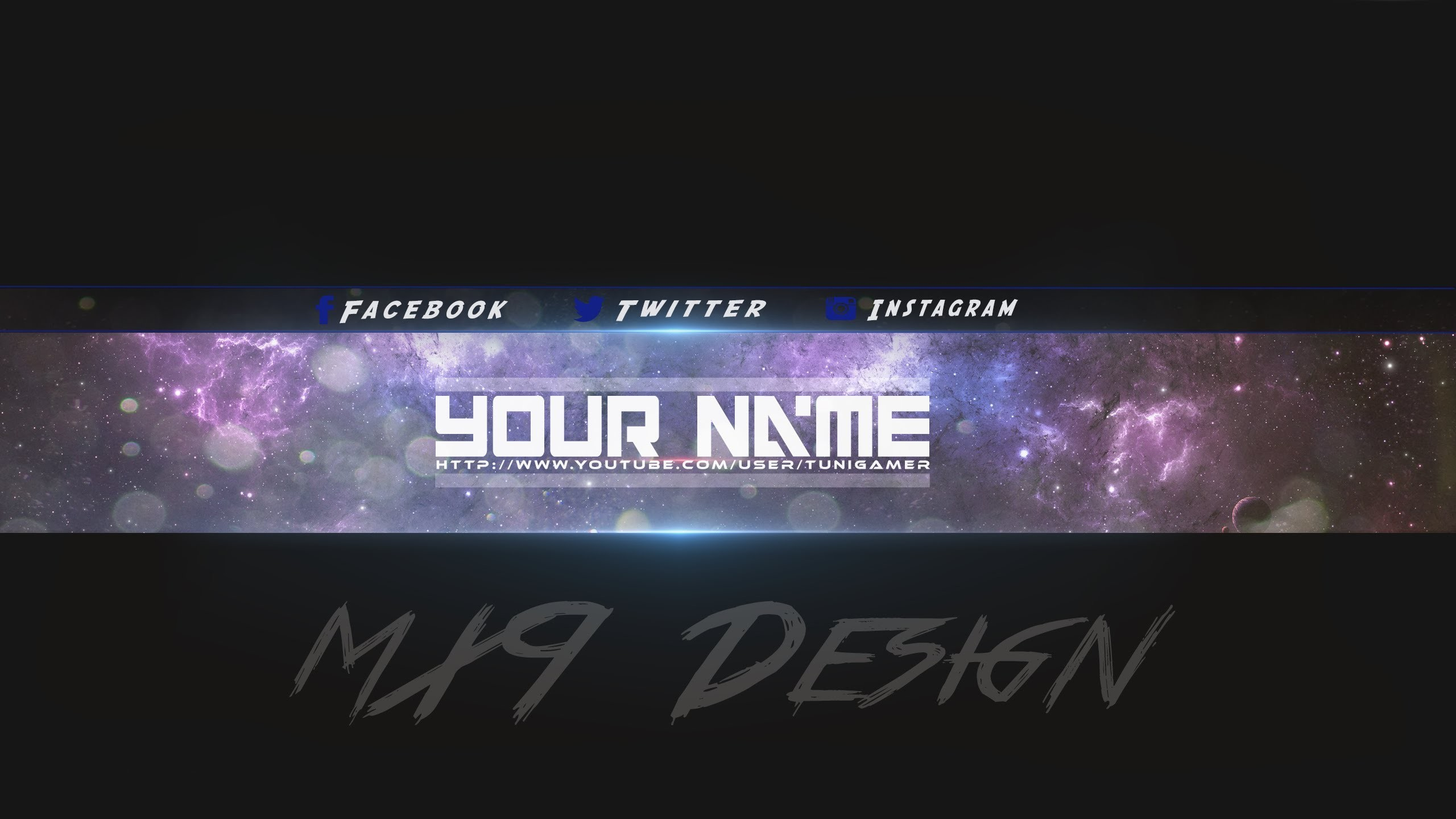 epic gaming youtube banner template free download youtube within