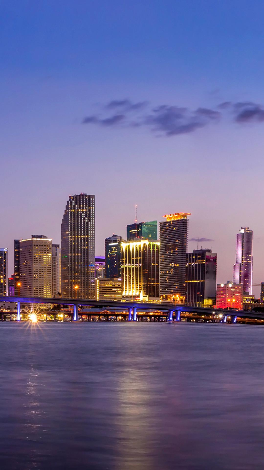 Miami Skyline Wallpaper 56 Images
