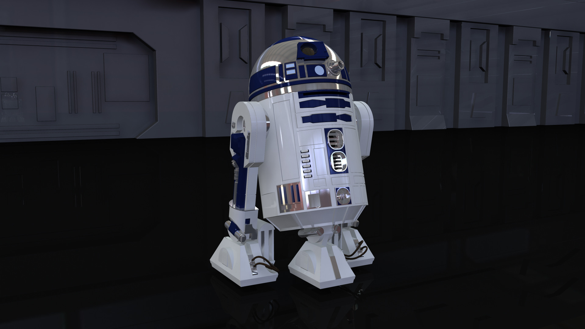 1920x1080 R2 D2 Cutscene Model image Jedi Academy Unleashed Mod for Star