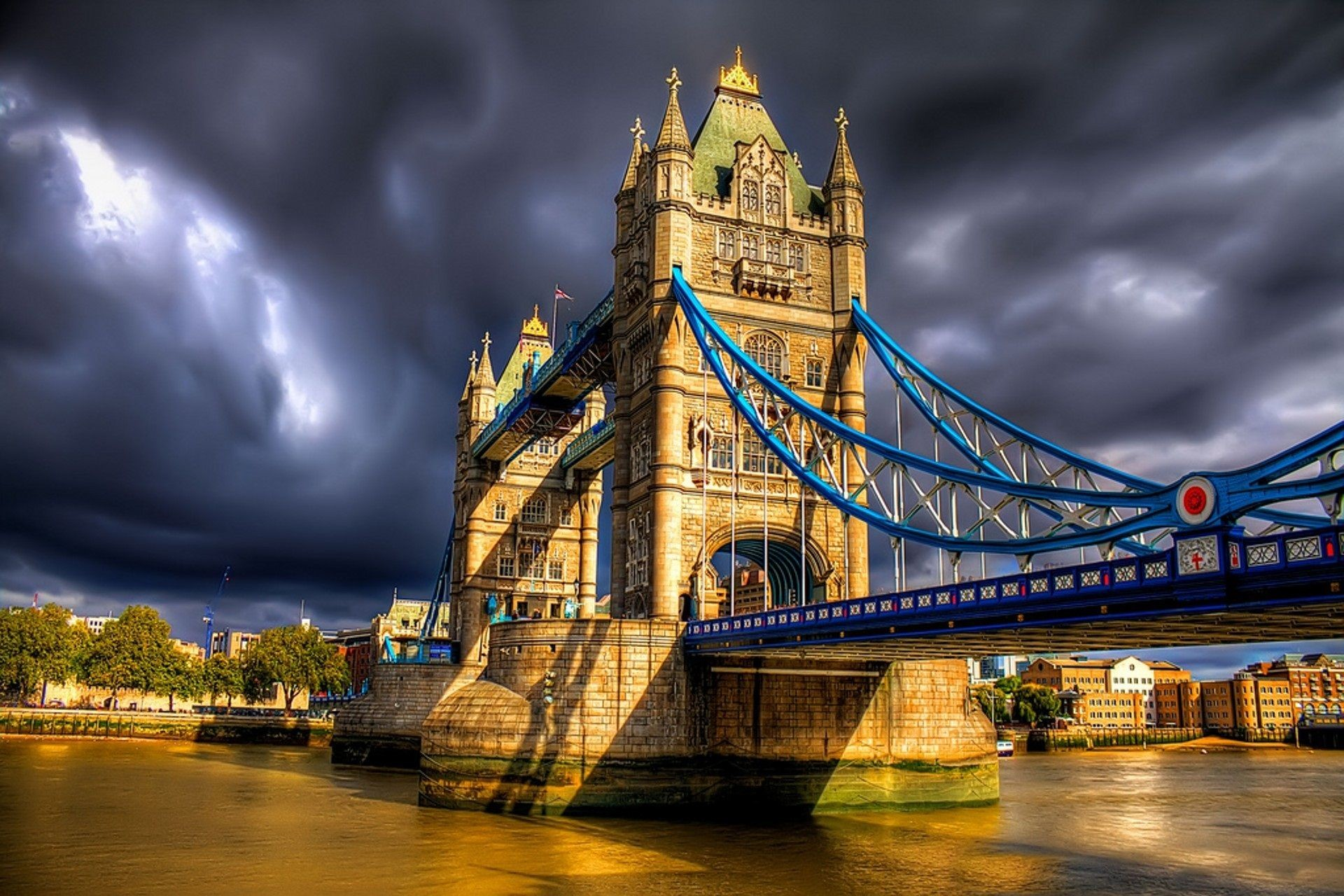 1920x1280 Tower Bridge High Definition Wallpaper Desktop