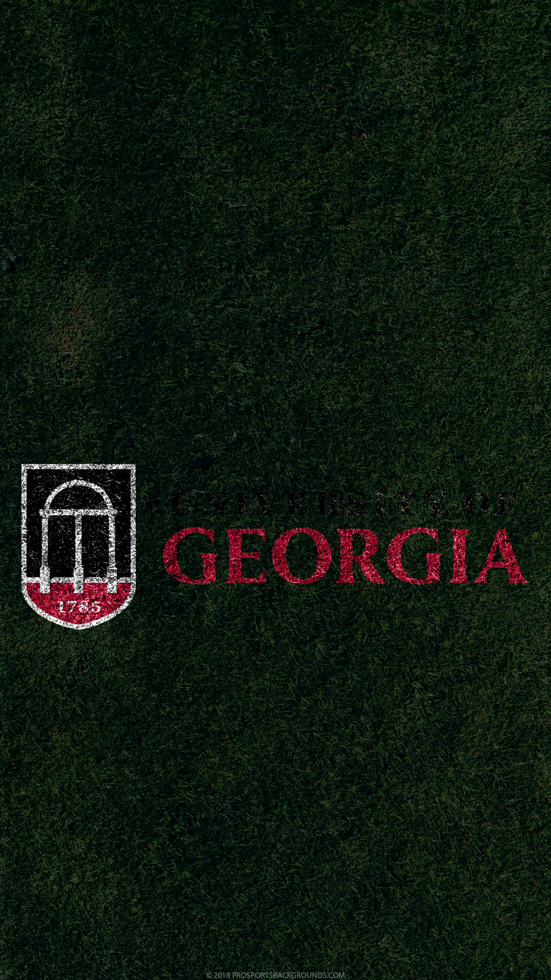 1080x1920 ... Georgia Bulldogs 2018 ncaa football grass team logo wallpaper for  iphone andriod and windows mobile phones