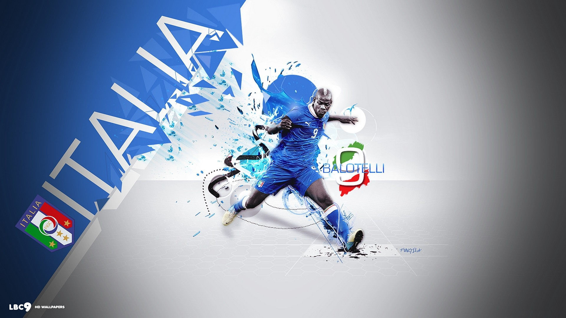 1920x1080 euro 2012 italia balotelli wallpaper