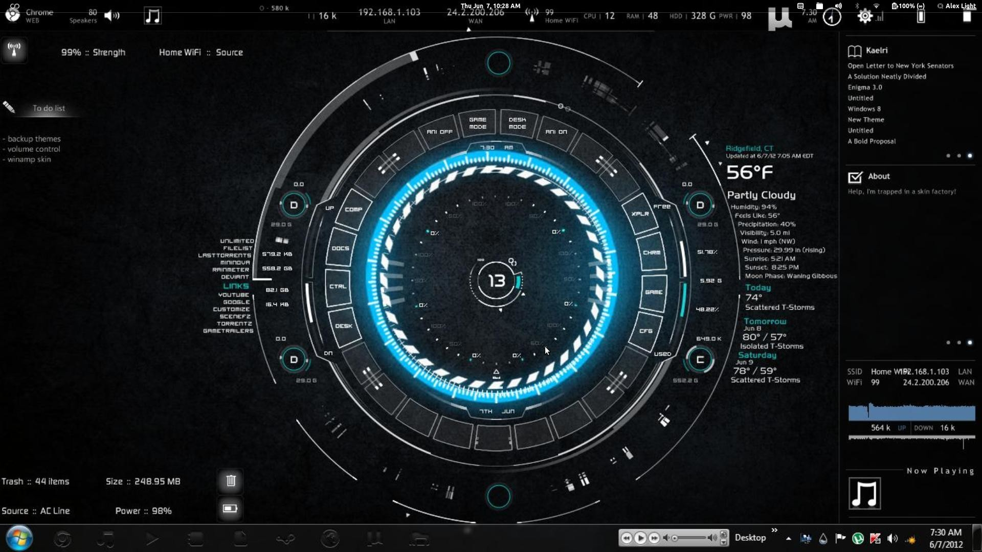 1920x1080 Iron Man Jarvis Wallpaper Hd Iron man hud w