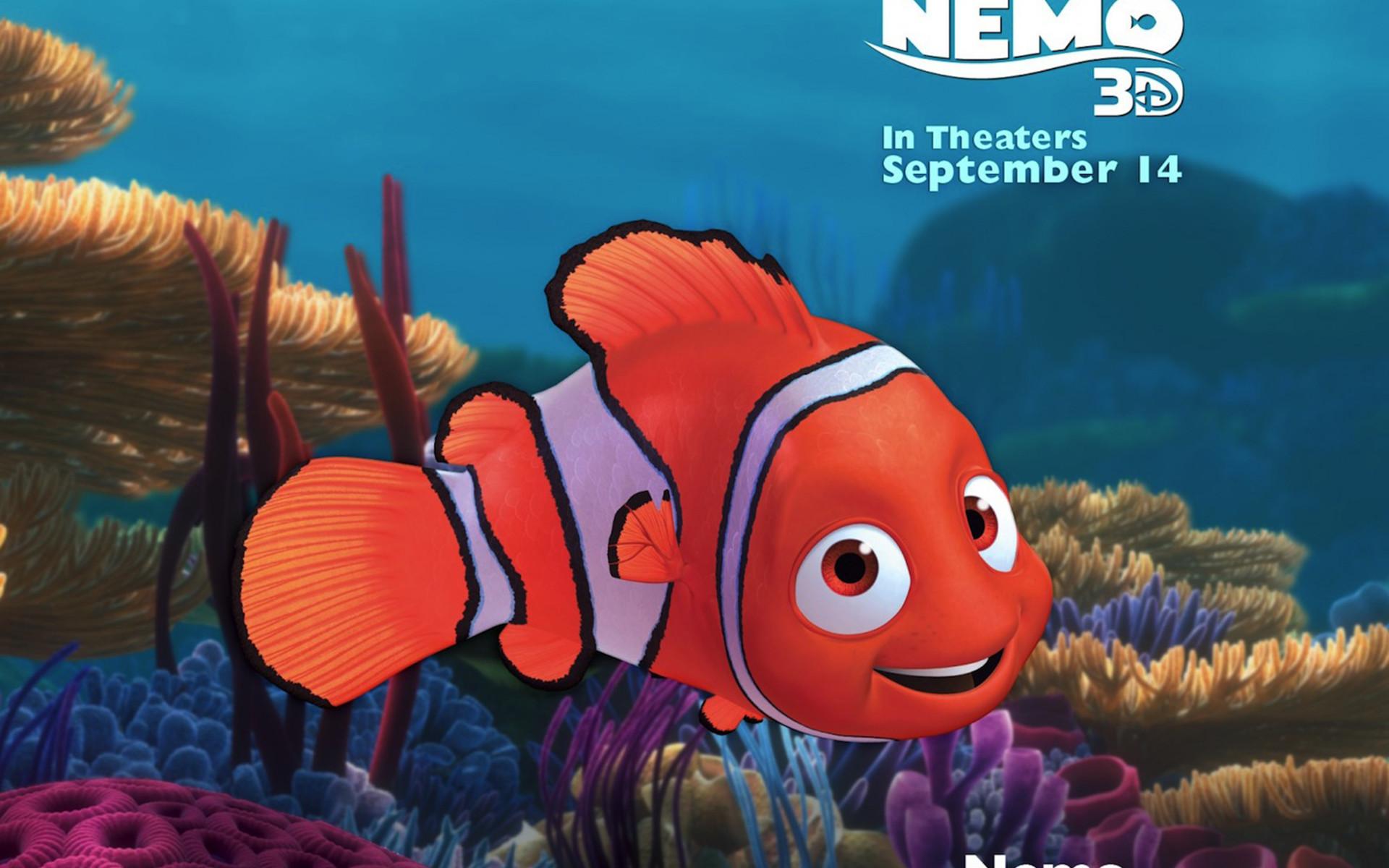 Finding Nemo D Animasi Hd Wallpaper: HD Nemo Wallpapers (61+ Images