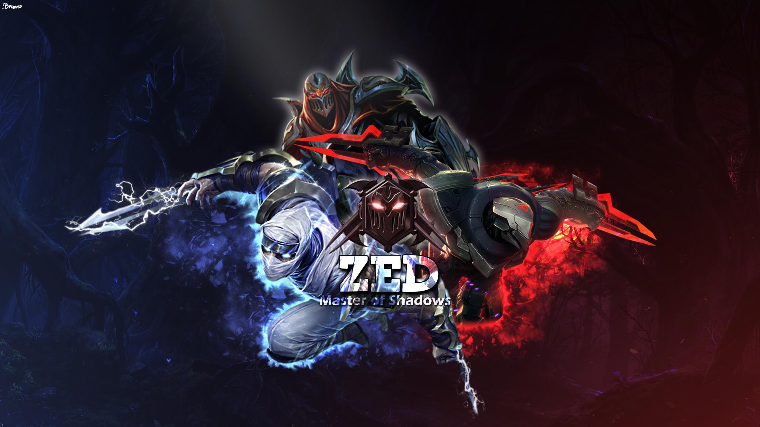2560x1440 PROJECT Zed Shockblade Classic By Brumskyy HD Wallpaper Fan Art Artwork
