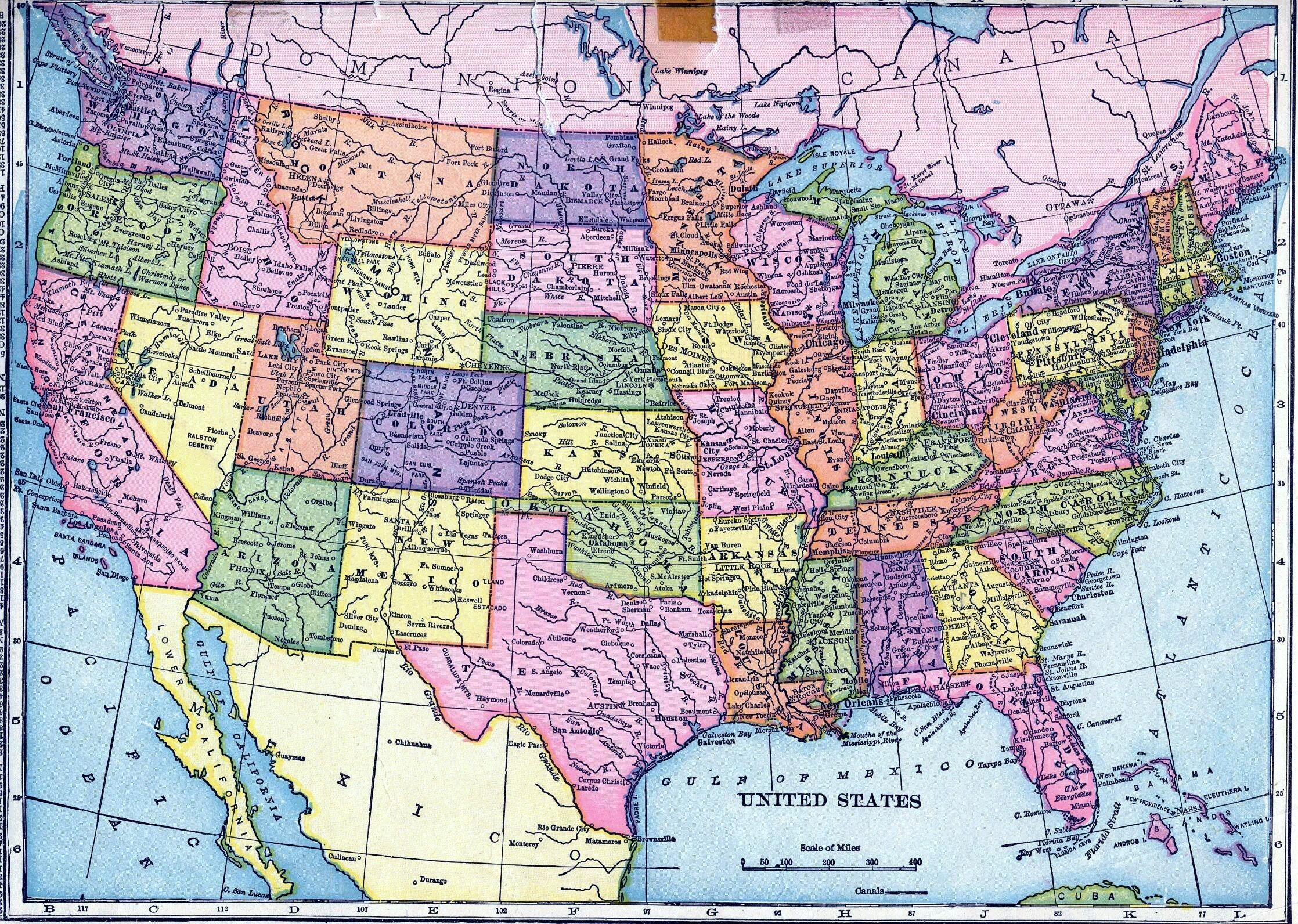 2236x1592 Interactive Map Of Us States Us Map States Interactive Us Map Fresh Us  Interstate Map Wallpaper