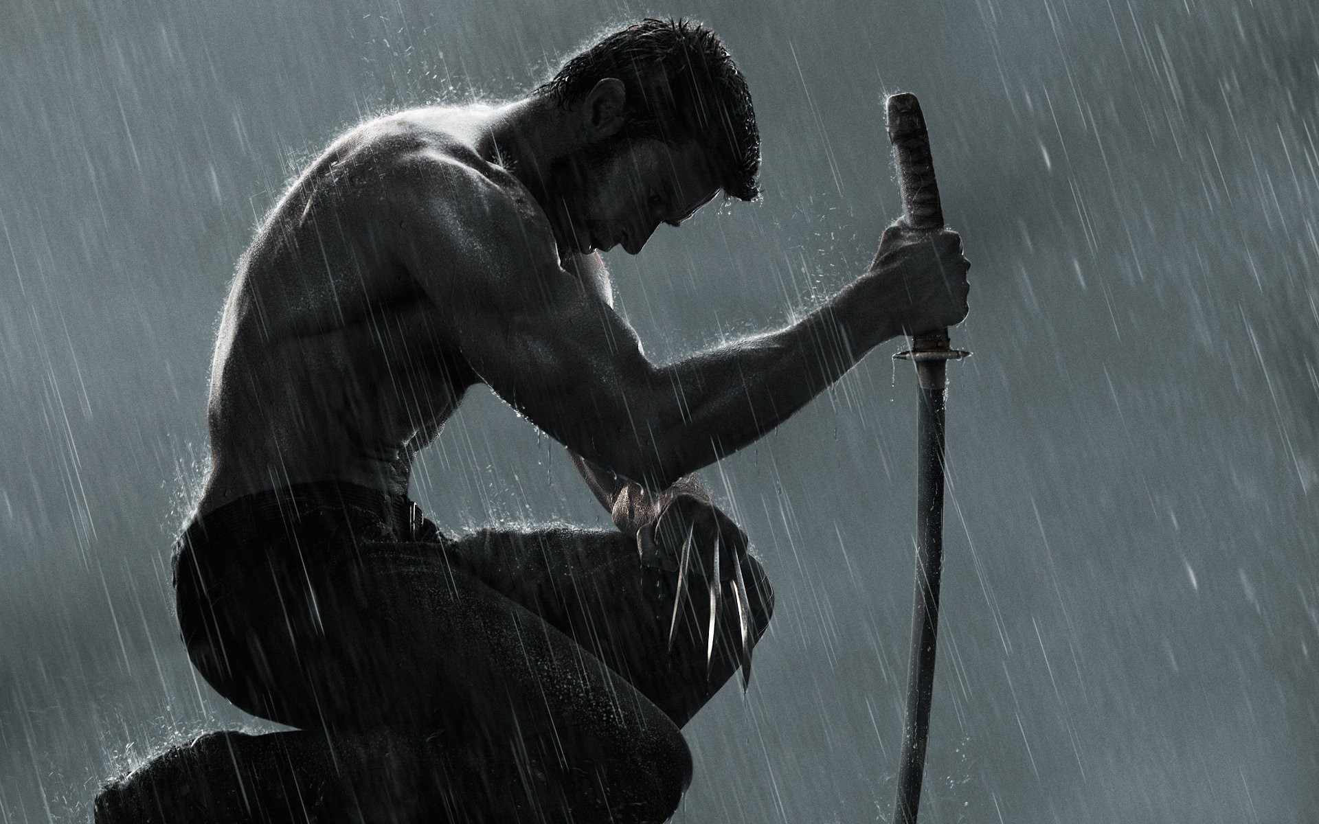 1920x1200 The Wolverine Motion Poster
