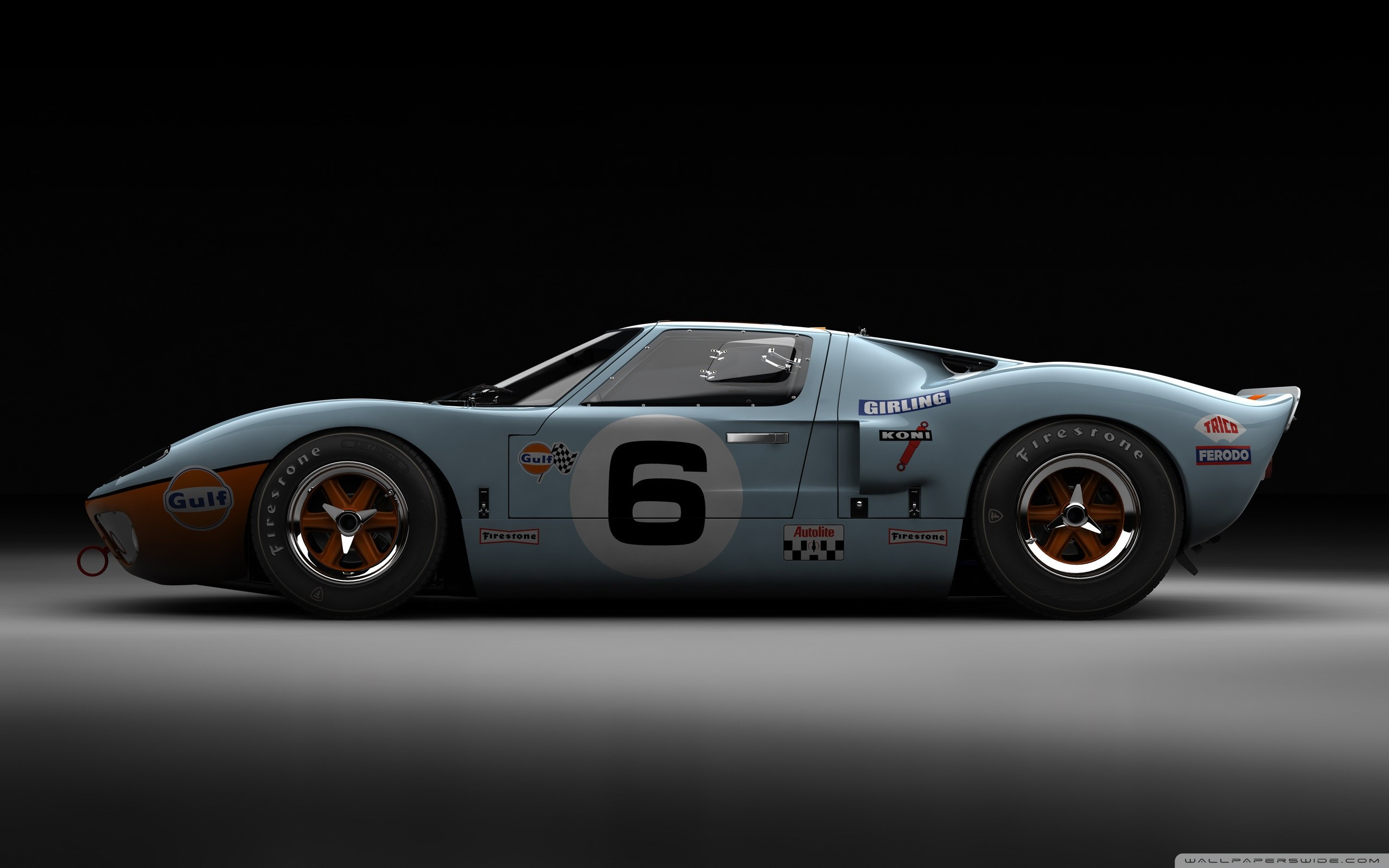 2560x1600 Ford GT40 Le Mans 1969 HD Wide Wallpaper for 4K UHD Widescreen desktop &  smartphone