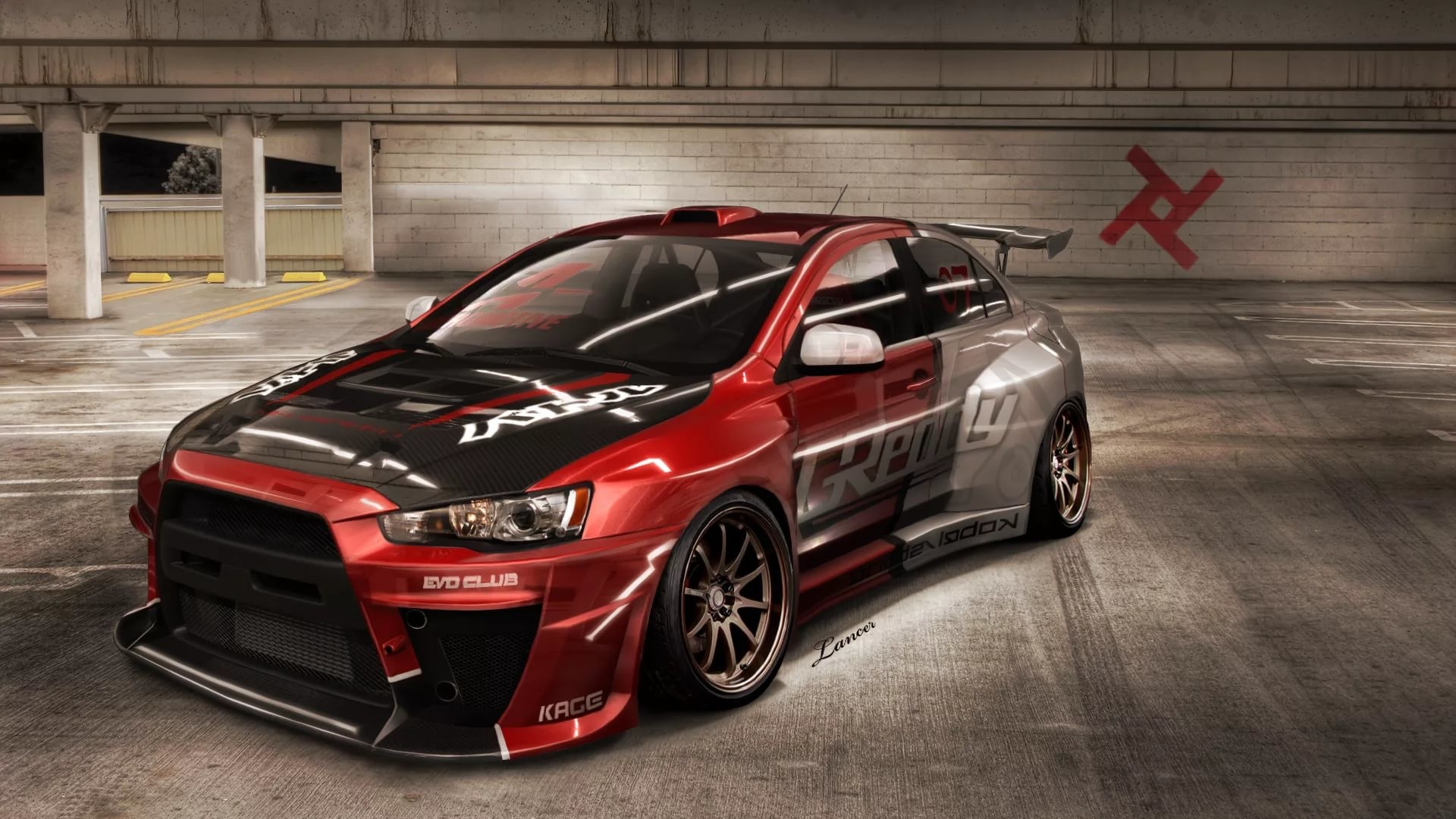 1920x1080 ... Mitsubishi Lancer Evo X Wallpaper good ...