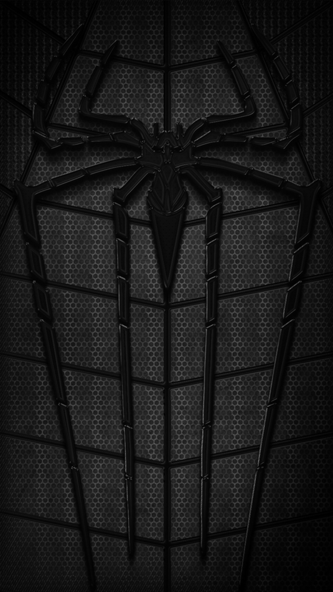 Wallpaper Spiderman Hitam
