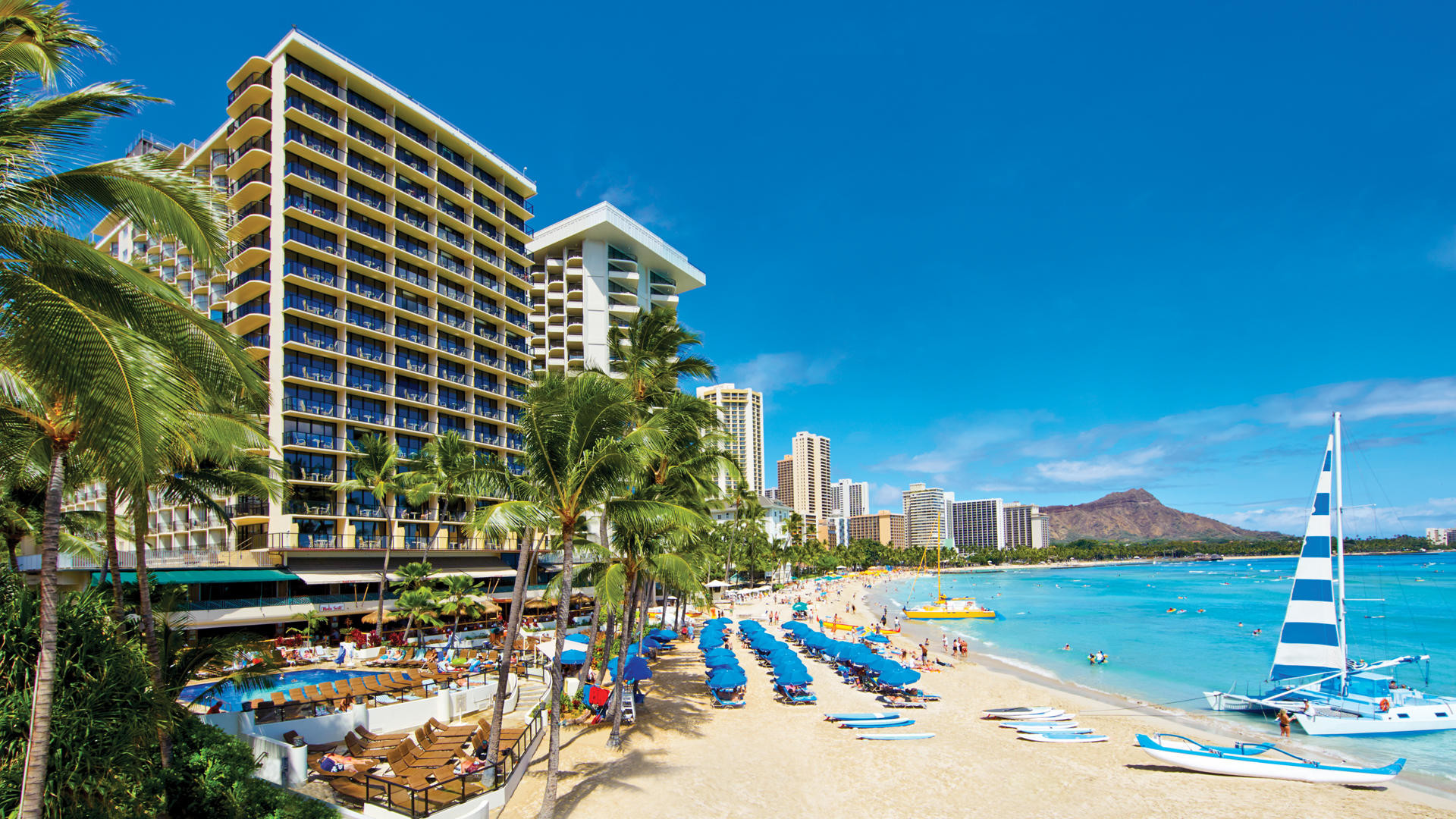 Waikiki Beach Wallpaper 60 Images