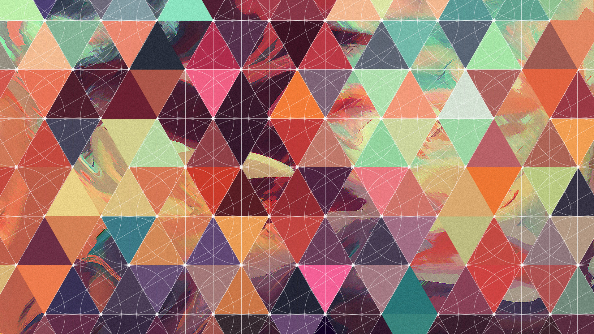 1920x1080 I made a geometric/abstract wallpaper today ()