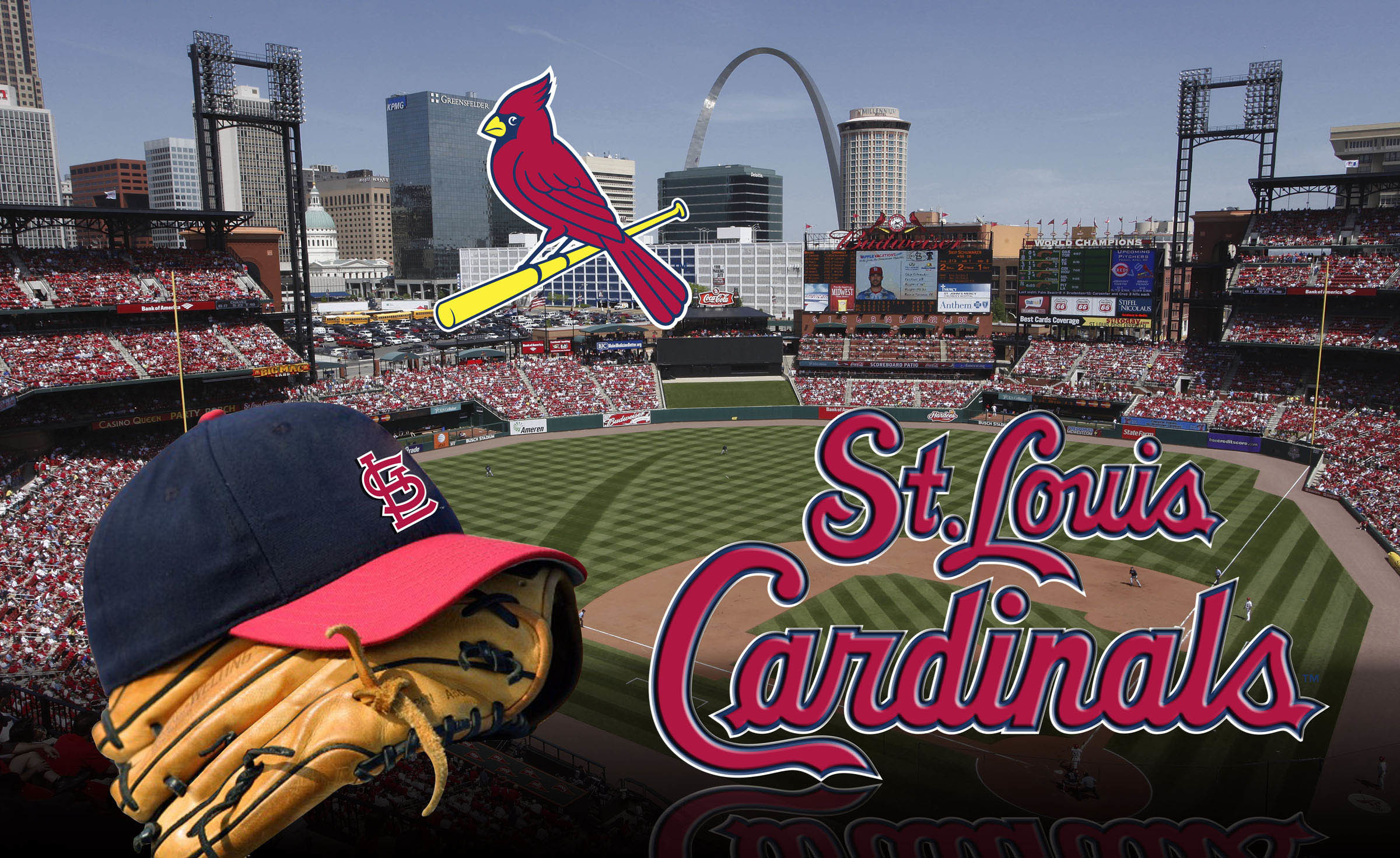 2400x1471 MLB St. Louis Cardinals wallpaper