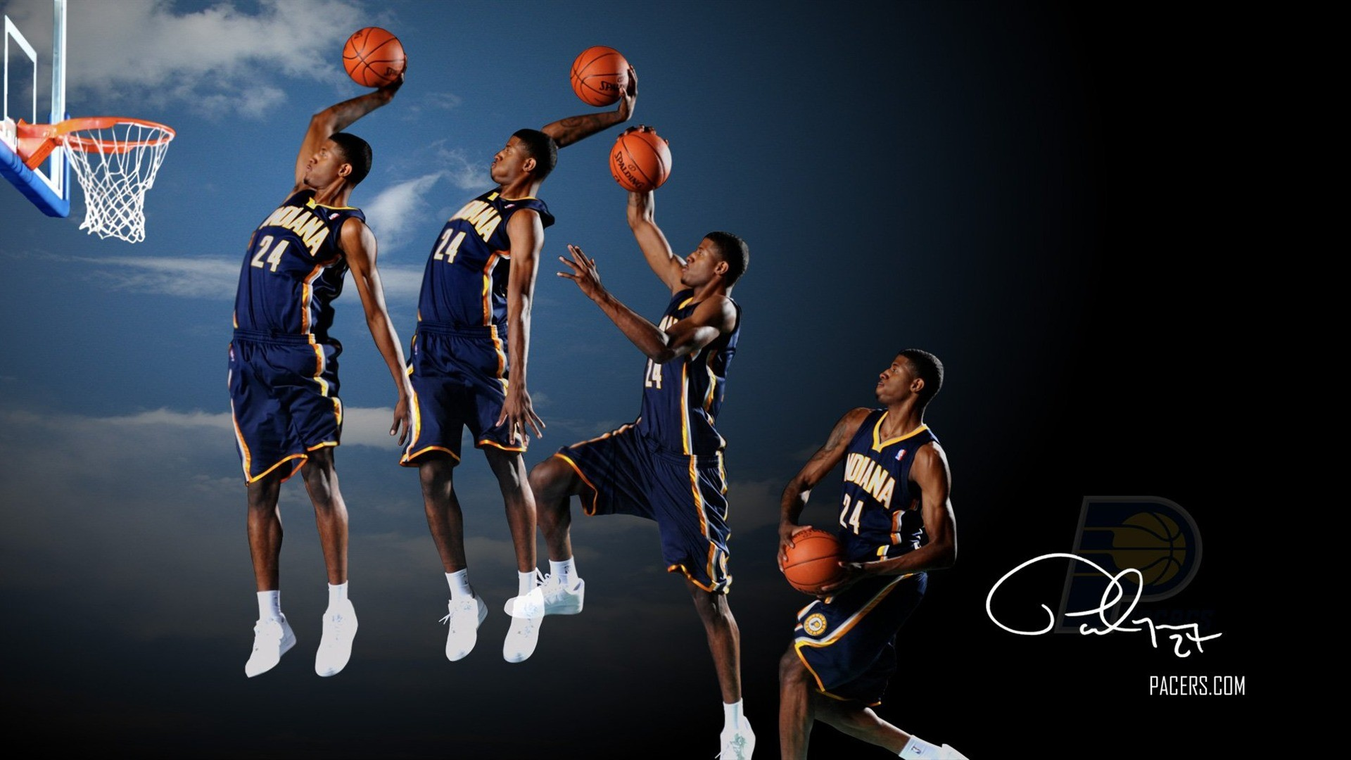 1920x1080 Indiana Pacers Wallpaper 15 - 1920 X 1080