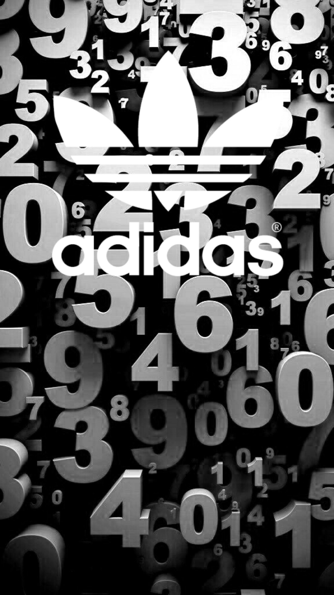 1106x1967 #adidas #black #wallpaper #android #iphone
