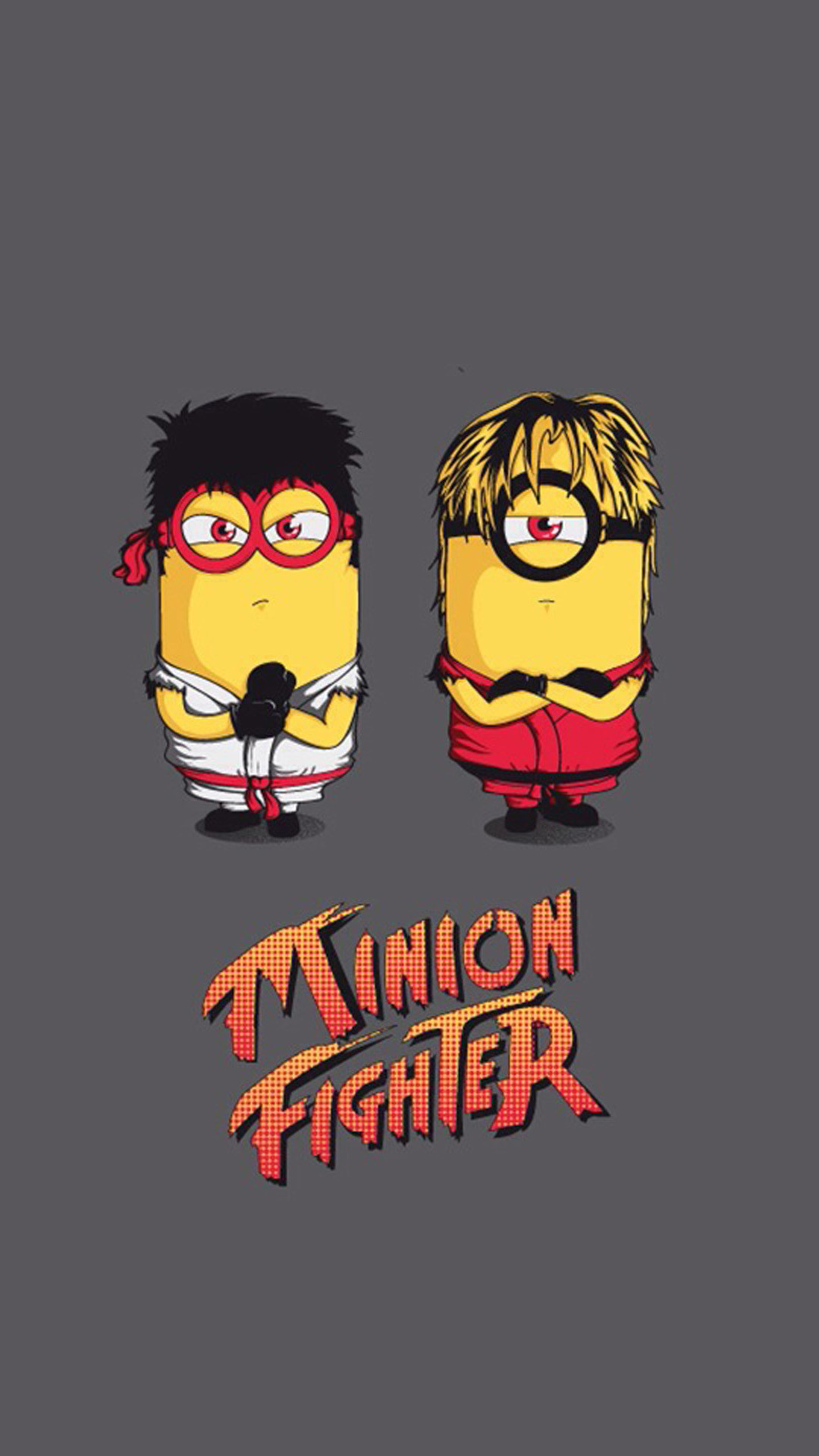 1080x1920 Funny Minion Fighter HD Wallpaper iPhone 6 plus