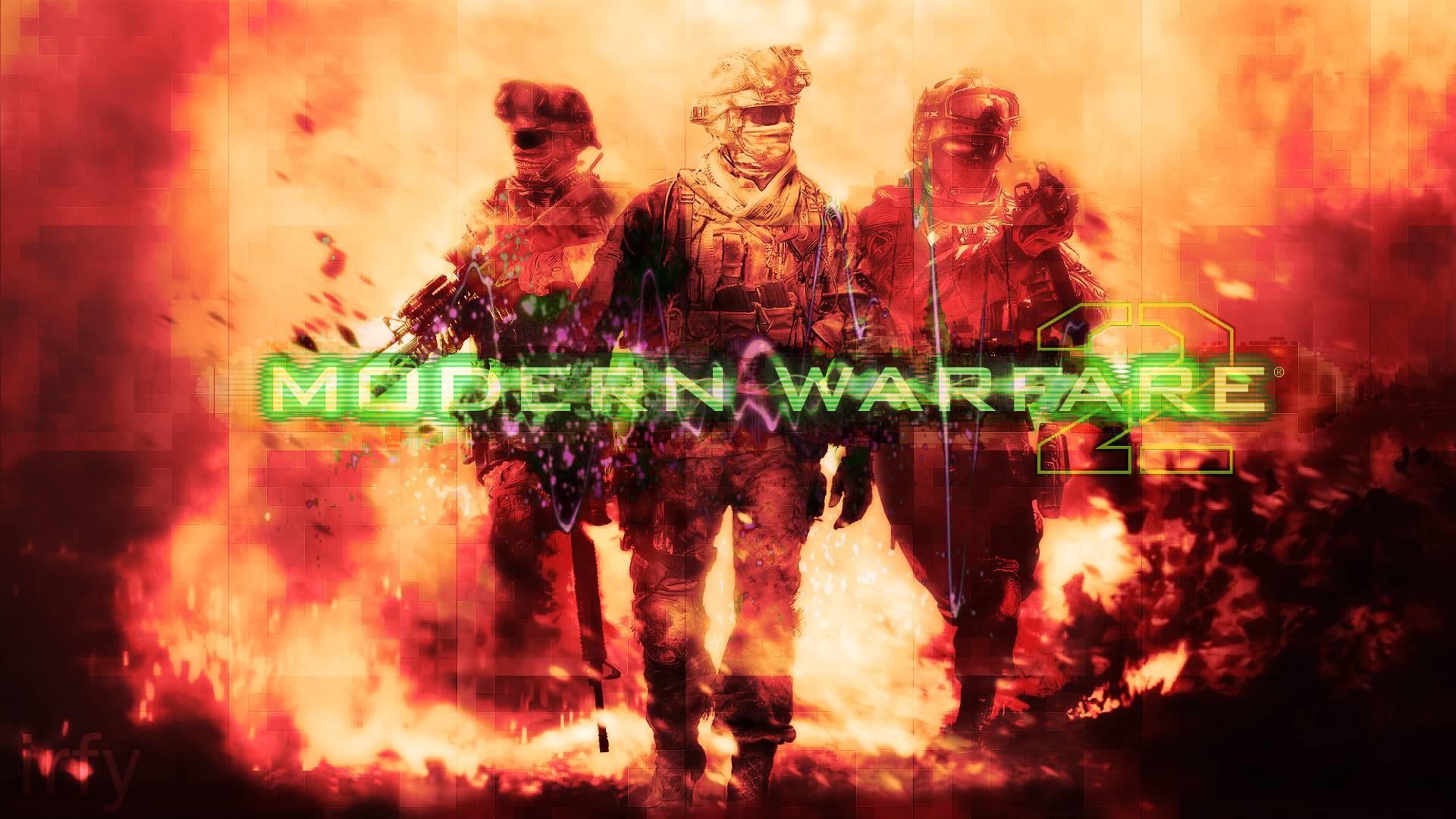 1920x1080 PC Call Of Duty Modern Warfare 2 Shotgun Jump In Favela