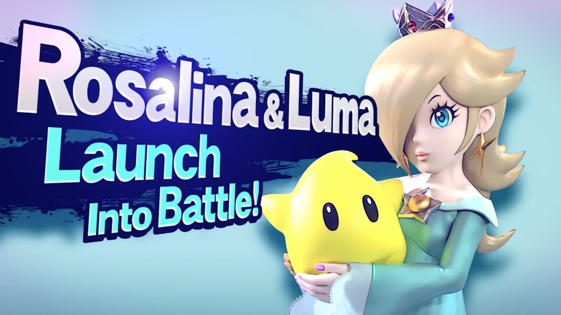 1920x1080 Rosalina & Luma join the battle! (Image: taken from Rosalina's Smash  trailer)