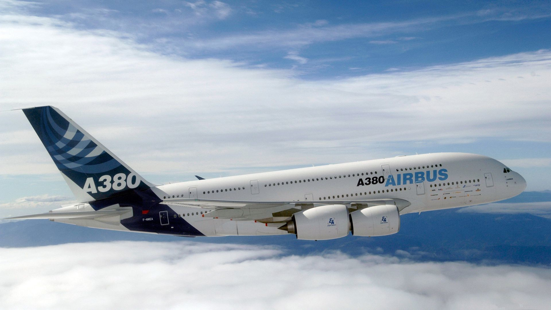 1920x1080 ... Airbus A380 Wallpaper - WallpaperSafari ...